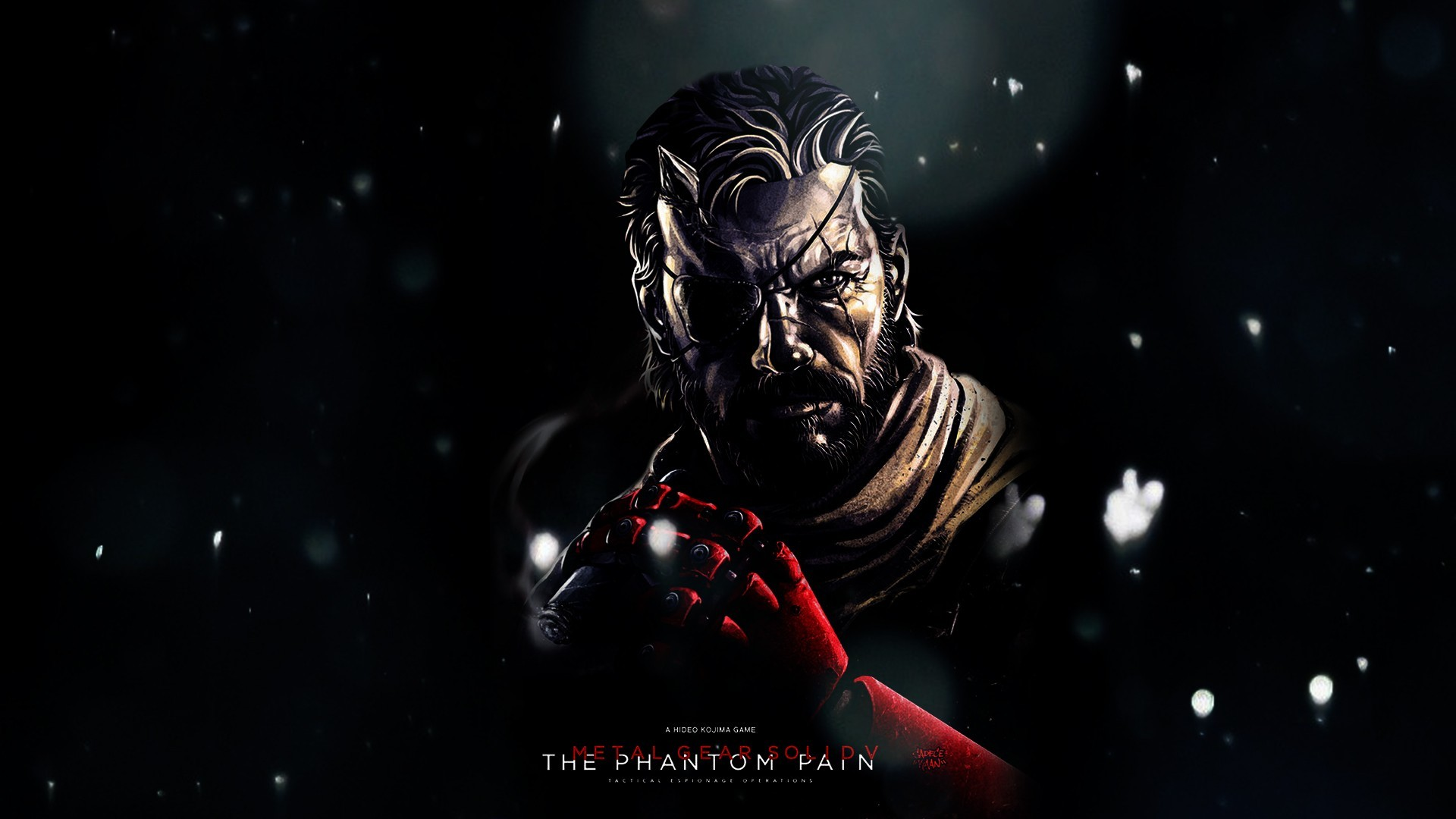 Metal Gear Solid V: The Phantom Pain, Big Boss, Video Games, Metal