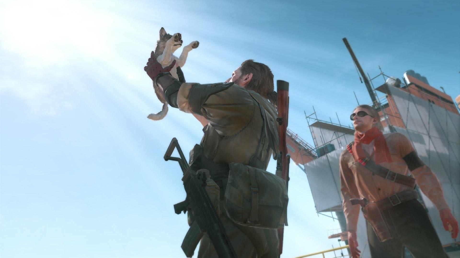 Metal Gear Solid 5 The Phantom Pain – D-Dog Puppy Cutscene (MGS5)