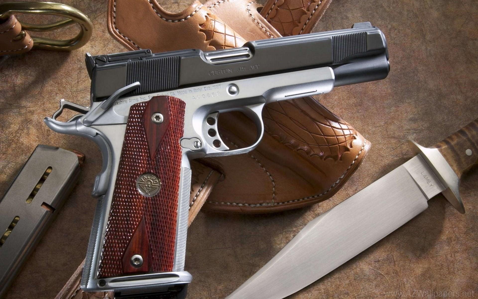 Glock Weapons Handguns Pistol Knife Wallpapers