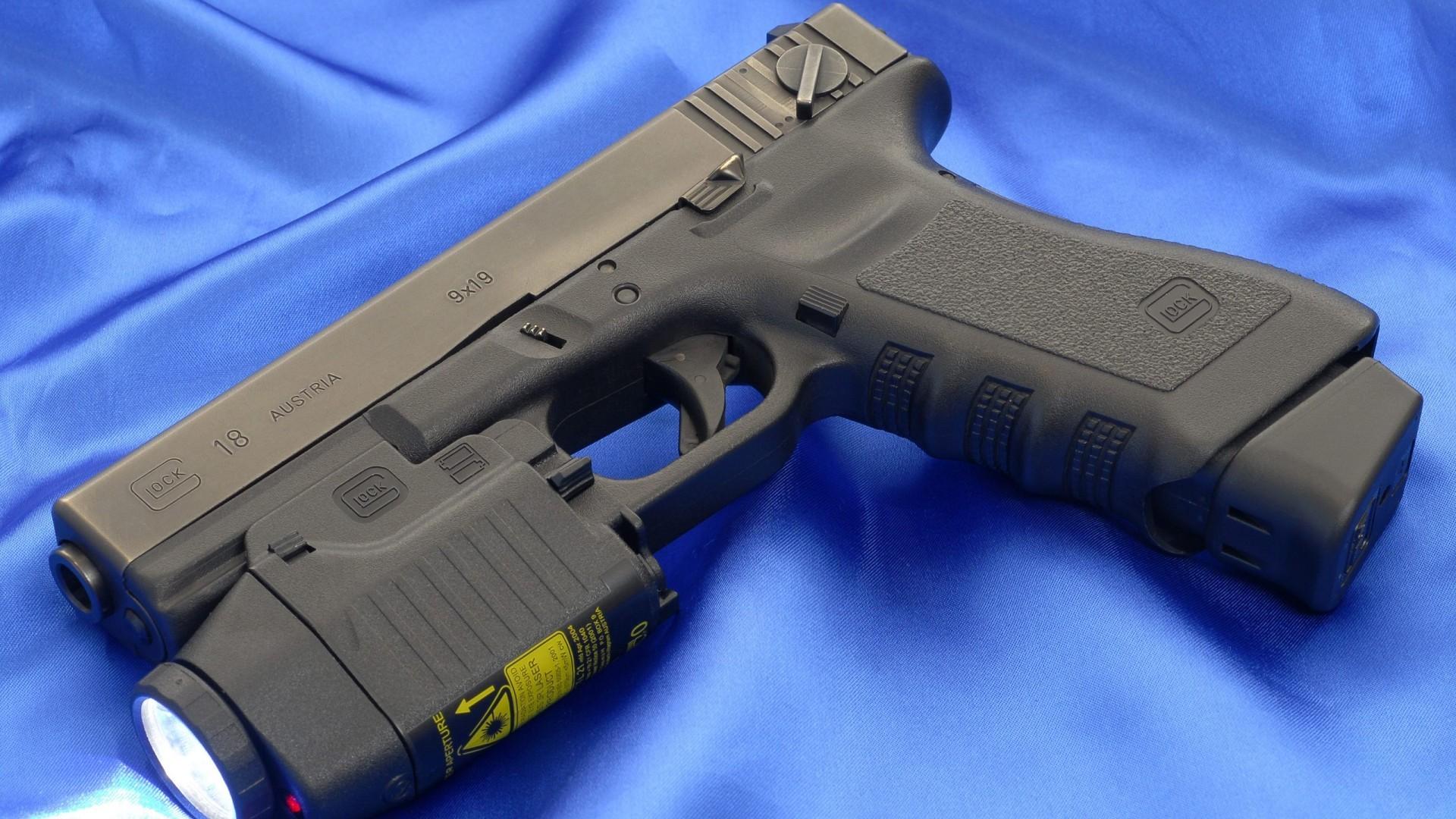 Glock 18 Automatic Pistol Wallpaper