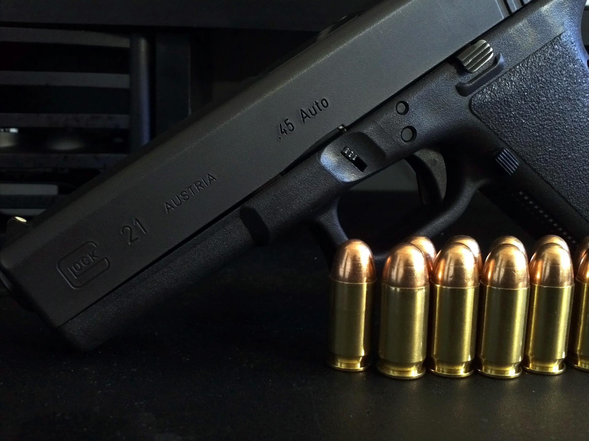 Glock 21 Logo Wallpaper