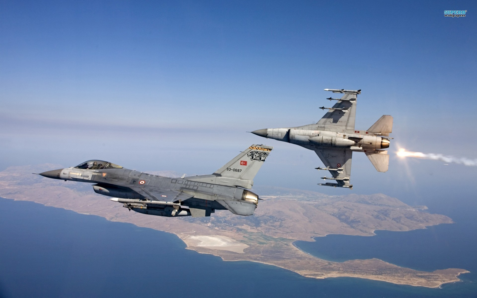 General Dynamics F-16 Fighting Falcon HQ Wallpapers