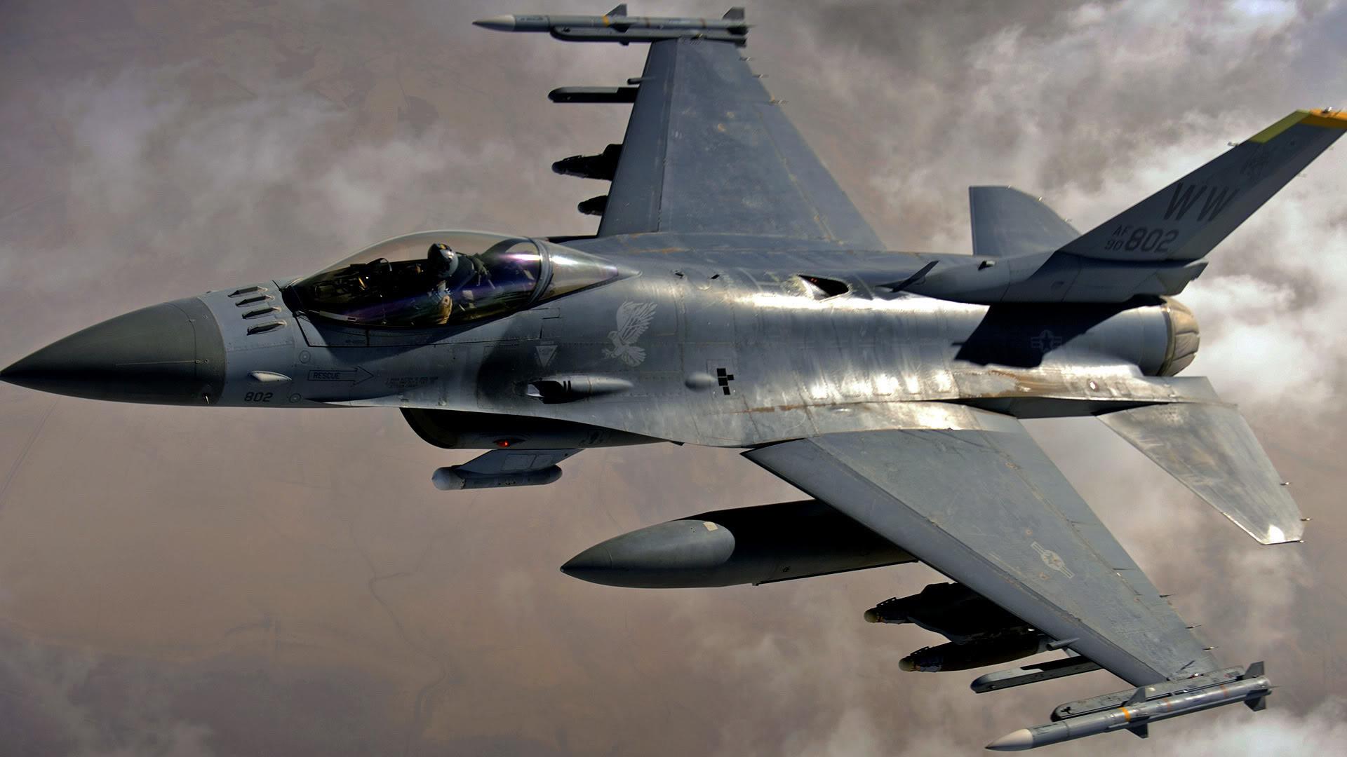 F 16 Fighting Falcon – 1080p HD Wallpaper Widescreen