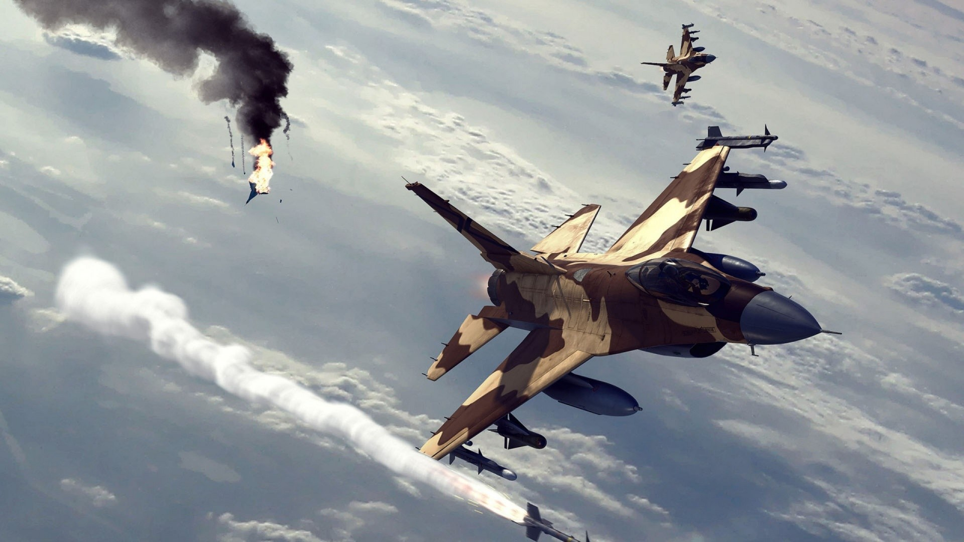 Fighter Aircraft Flying Wallpapers #27235 Wallpaper