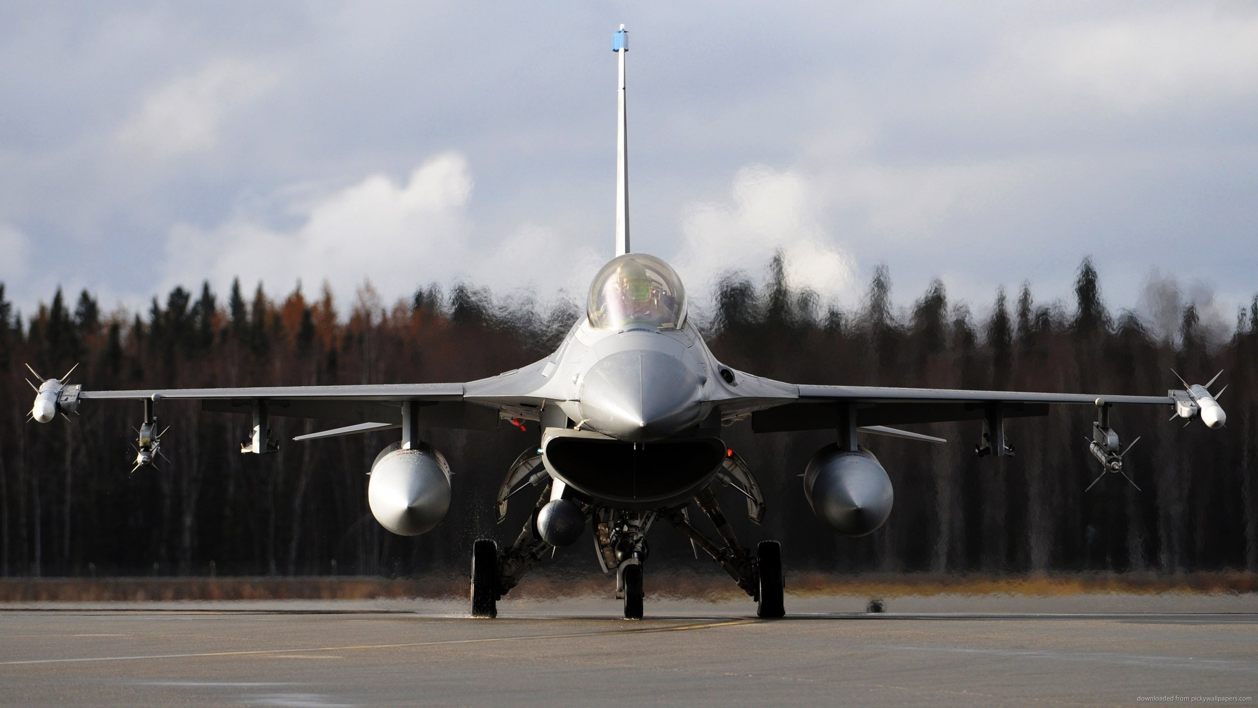 f-16-fighting-falcon-at-runway-front-view.jpg (2560×1440) | F16 Fighter |  Pinterest | Falcons, City wallpaper and Military aircraft