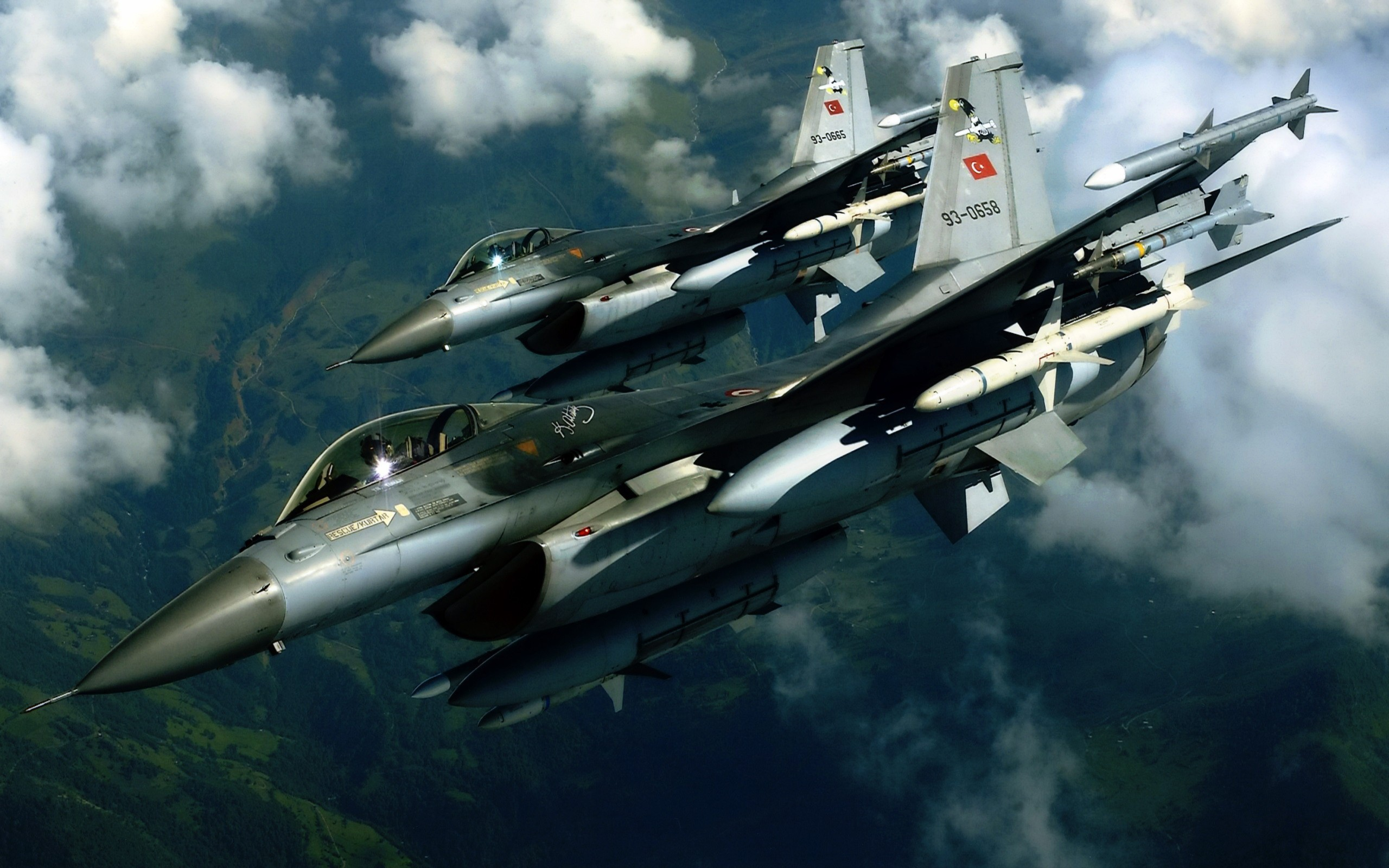 F 16 Fighting Falcon Aircraft Wallpaper HD Download