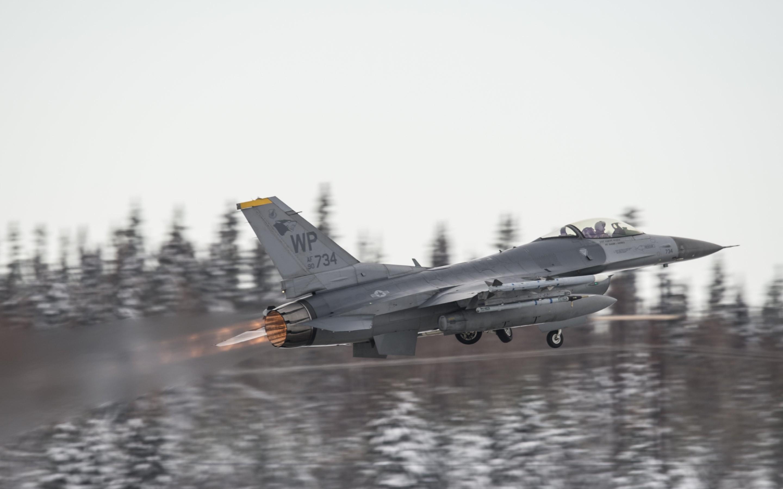4K HD Wallpaper: Aircraft. US Air Force. F-16 Fighter