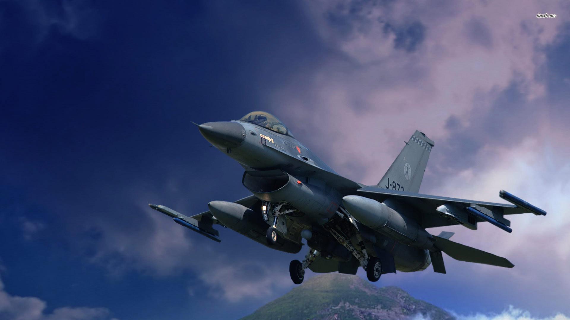 General Dynamics F-16 Fighting Falcon wallpaper – 1198242