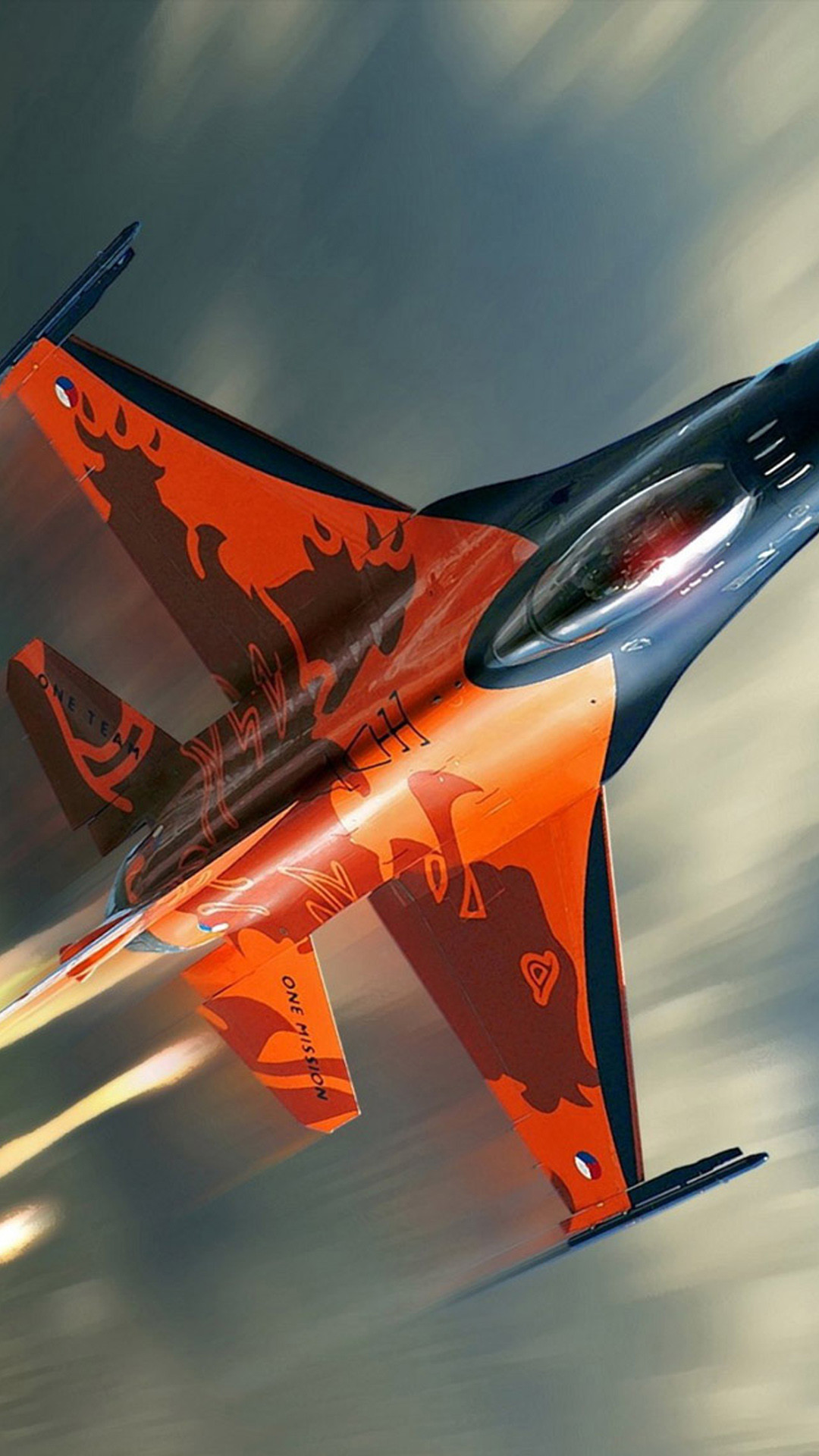 F16 fighter plane Samsung Galaxy Note 3 Wallpapers