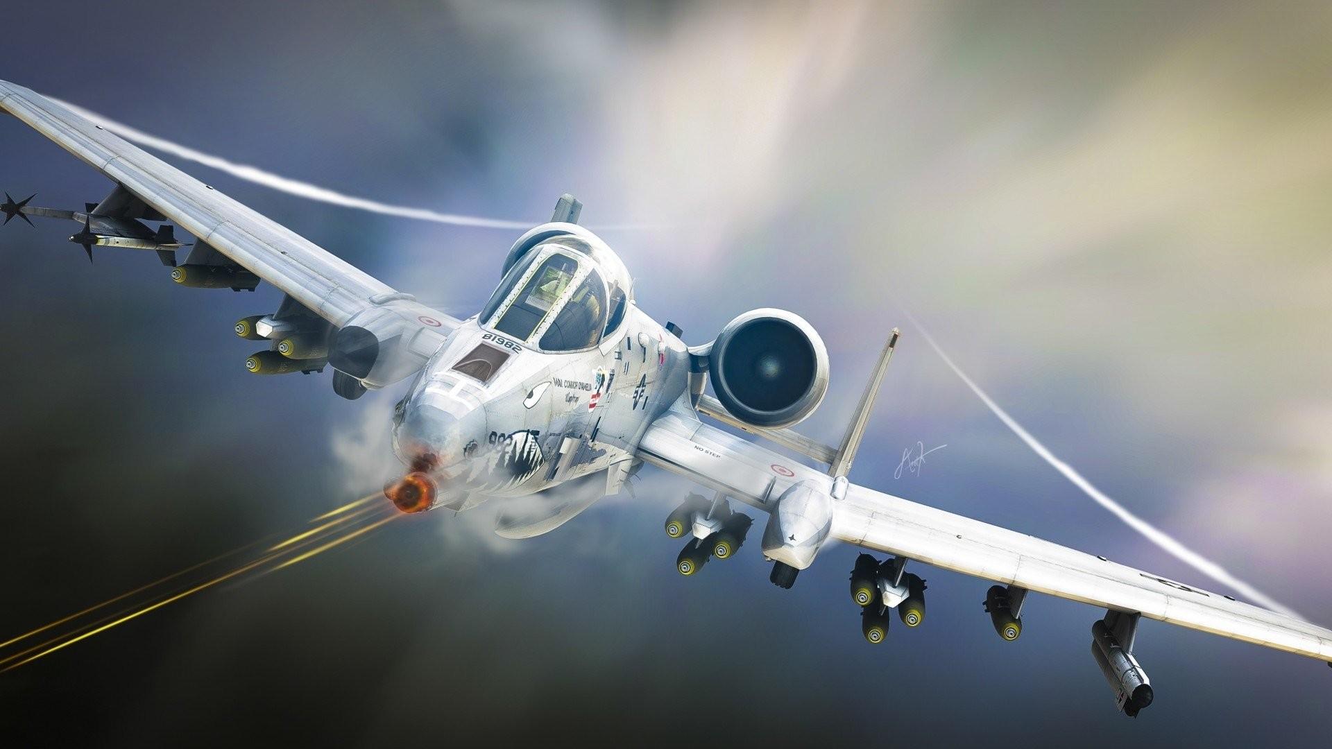 HD Wallpaper | Background ID:391181. Military Fairchild Republic A -10 Thunderbolt II