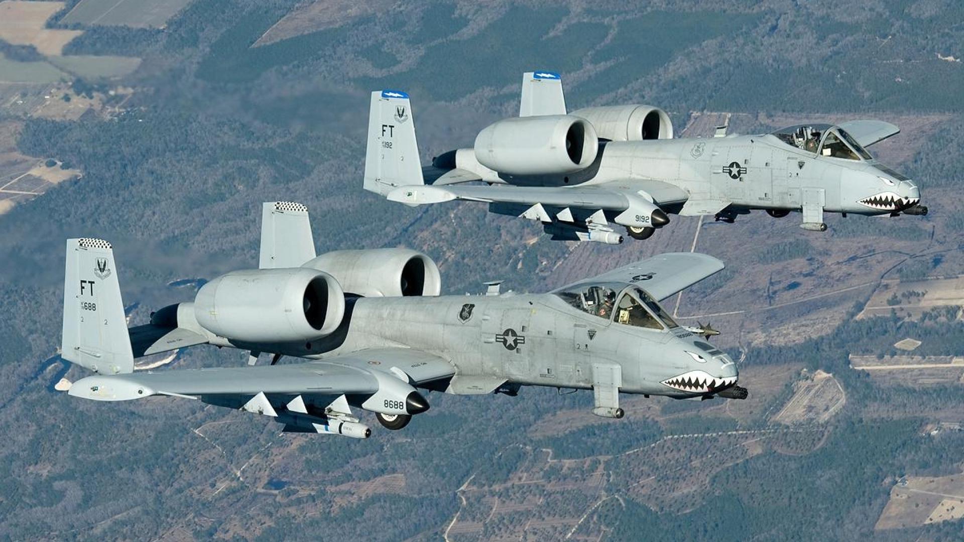 Images Of Fairchild Republic A-10 Thunderbolt II. Widescreen Wallpapers …