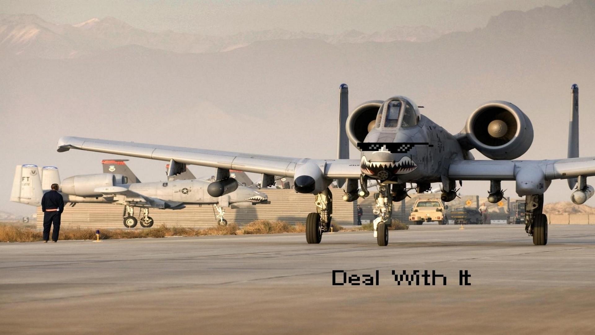 A-10 Jet Aircraft