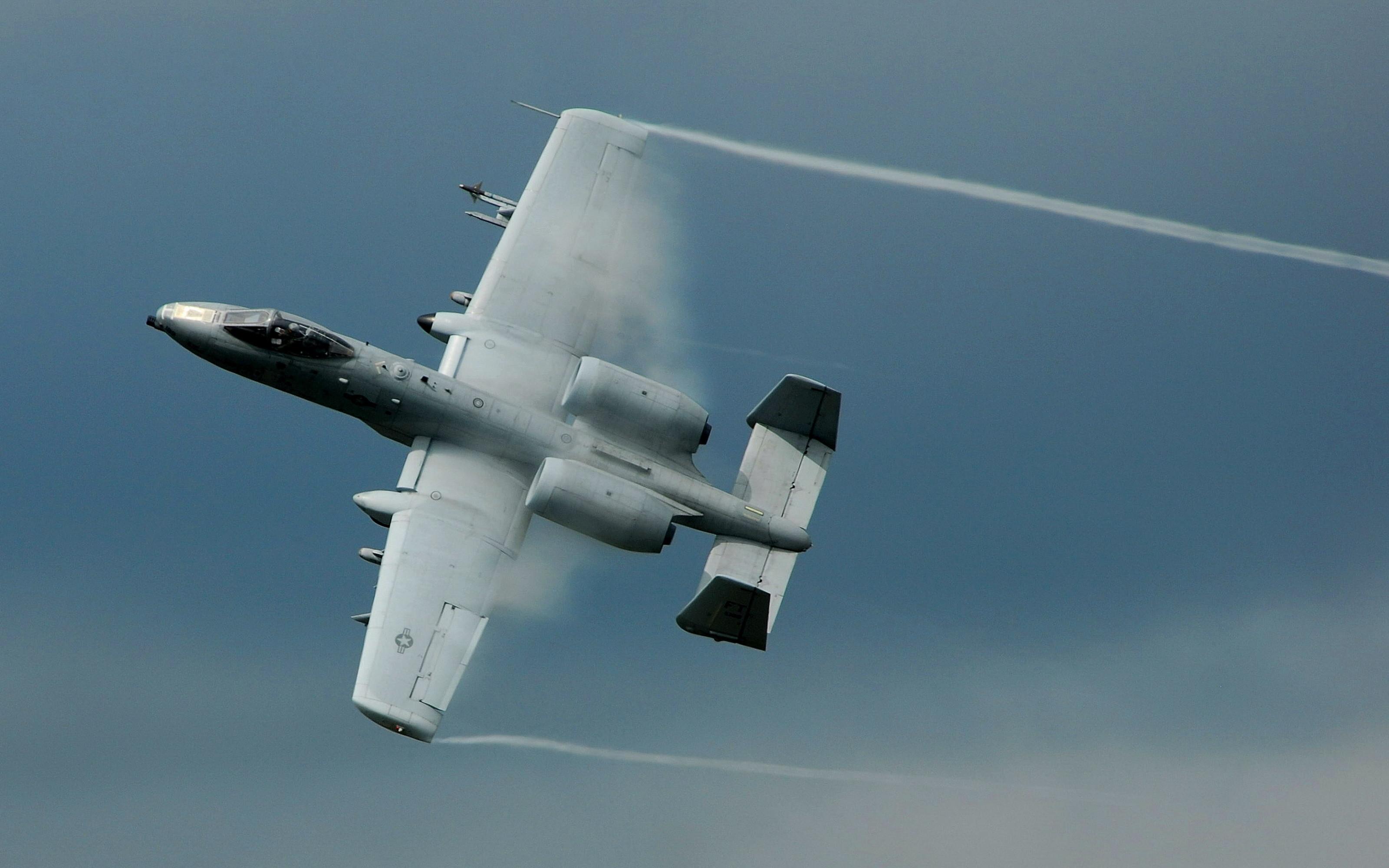 Planes Military War A-10 Thunderbolt II Warthog Aircraft
