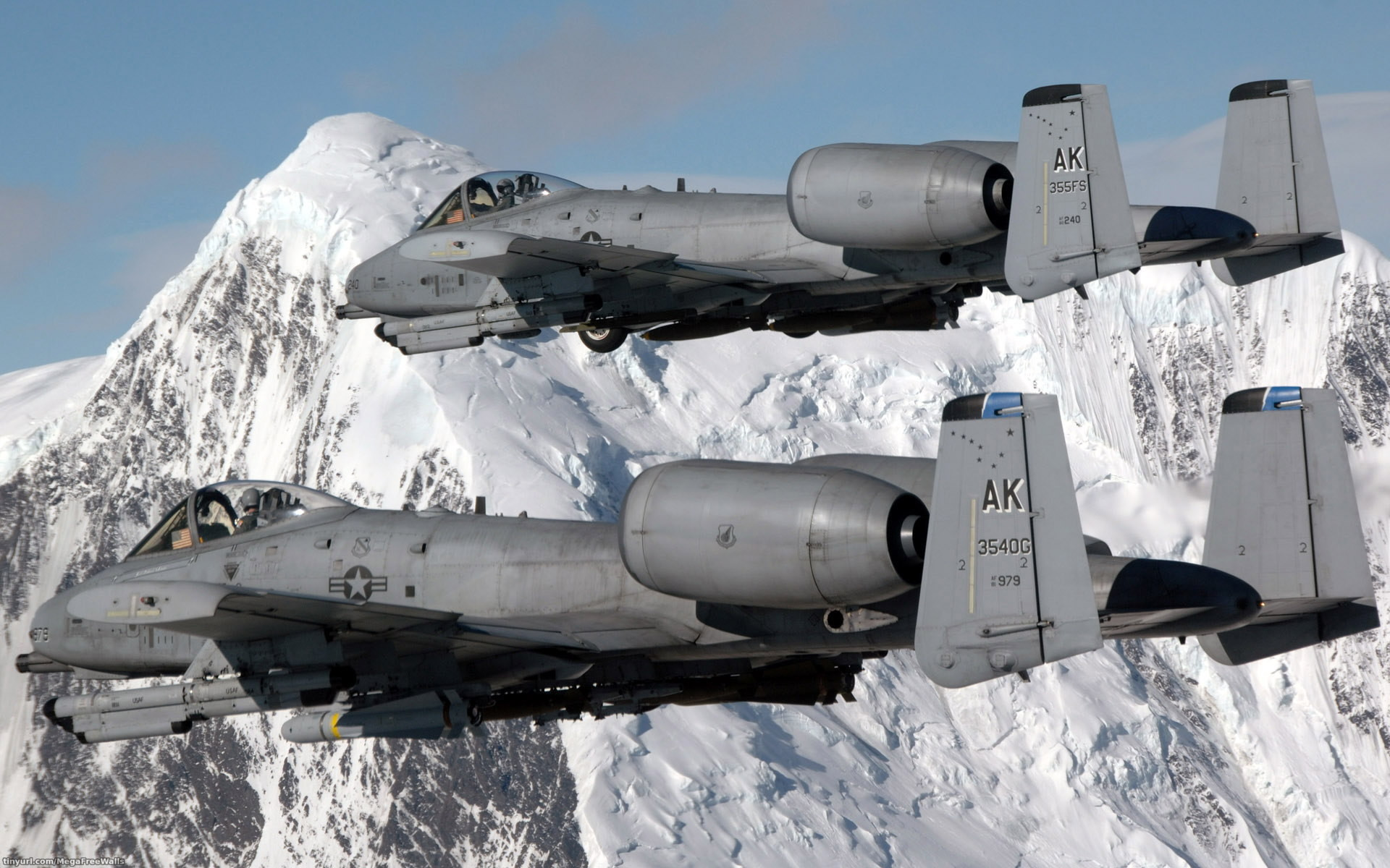 Military – Fairchild Republic A-10 Thunderbolt II Military Airplane Vehicle  Aircraft Wallpaper