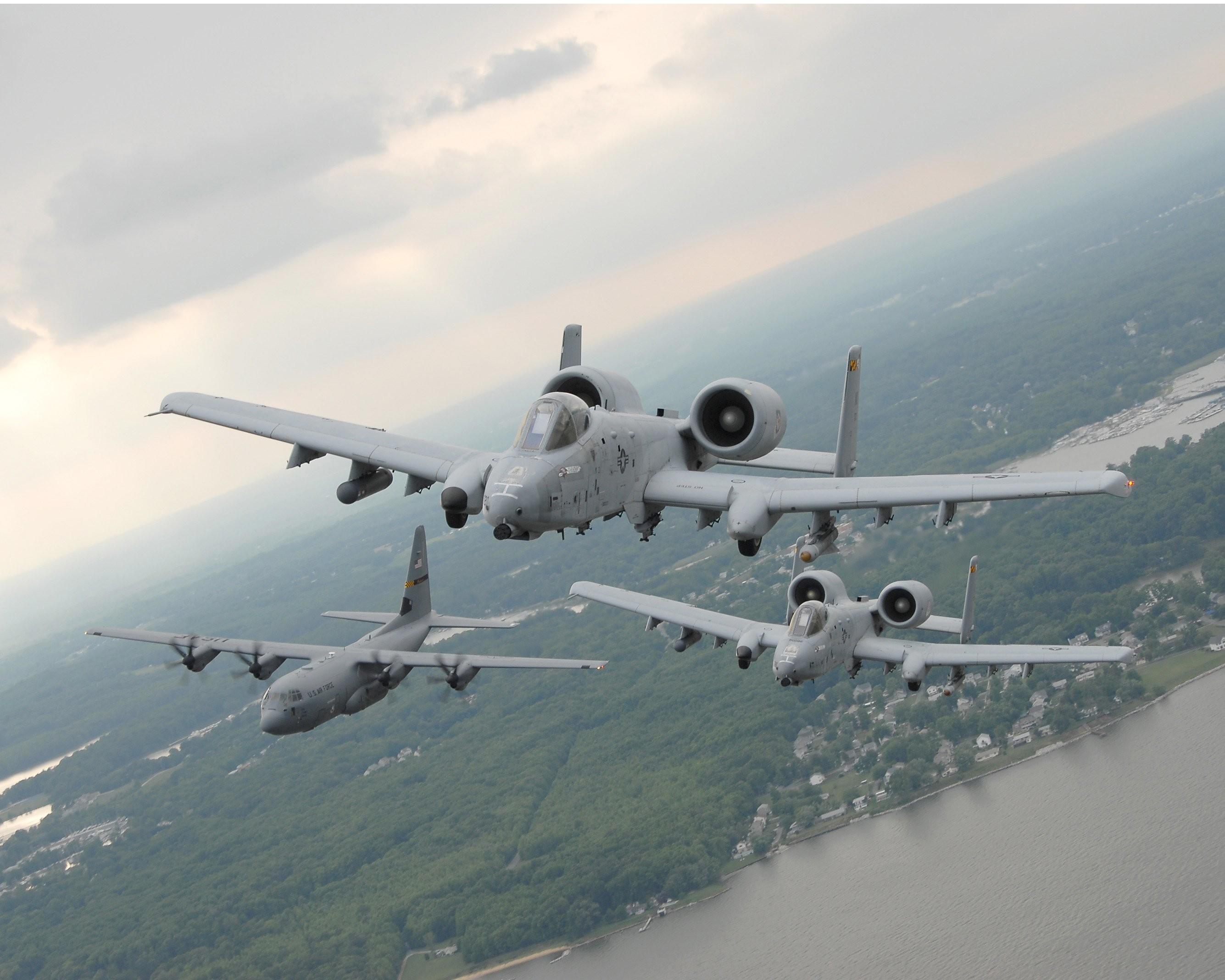 A-10 bomber jet fighter bomb military airplane plane thunderbolt warthog  (11) wallpaper | | 250703 | WallpaperUP