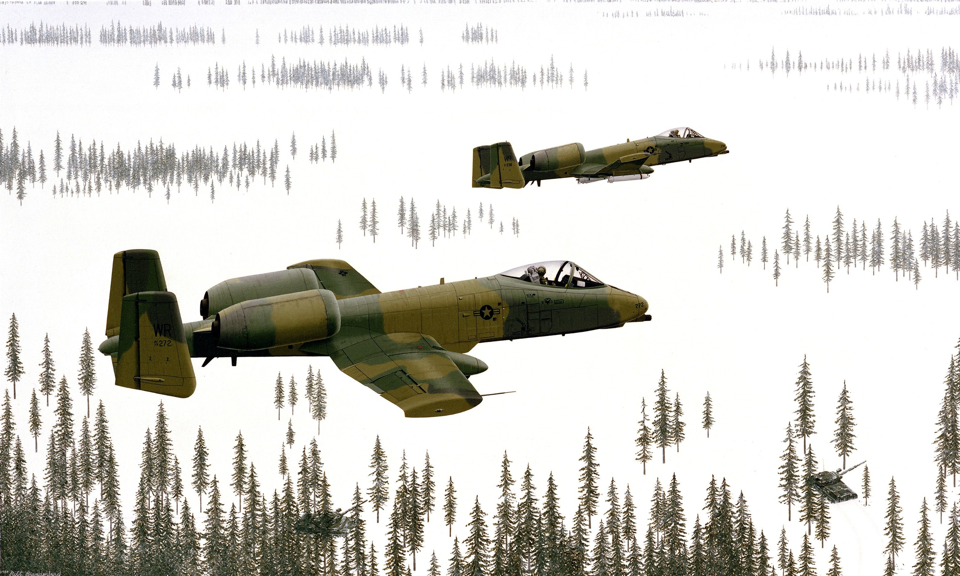 A-10 Wallpaper for Mobile