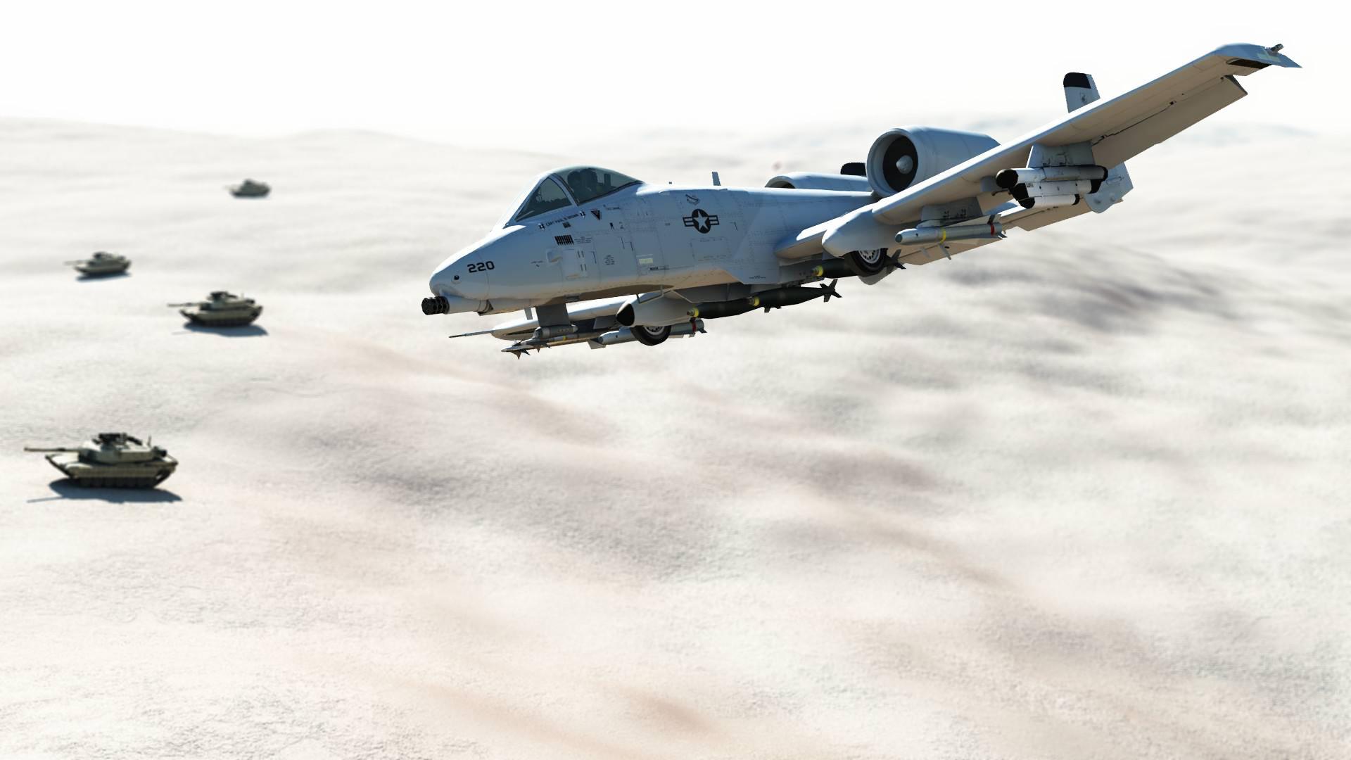 … A-10 Warthog Air Support by Jasuez