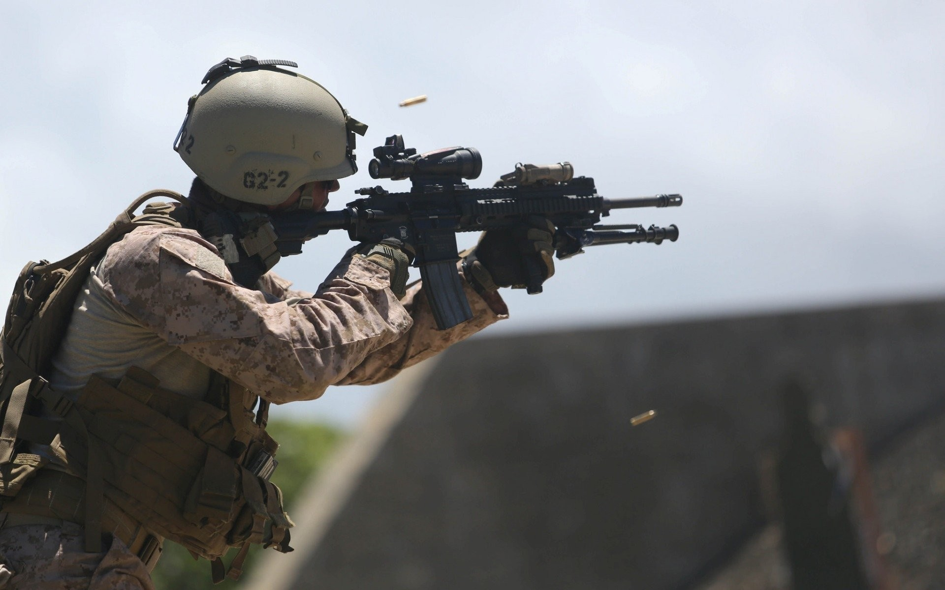 united states marine corps m16a4 men