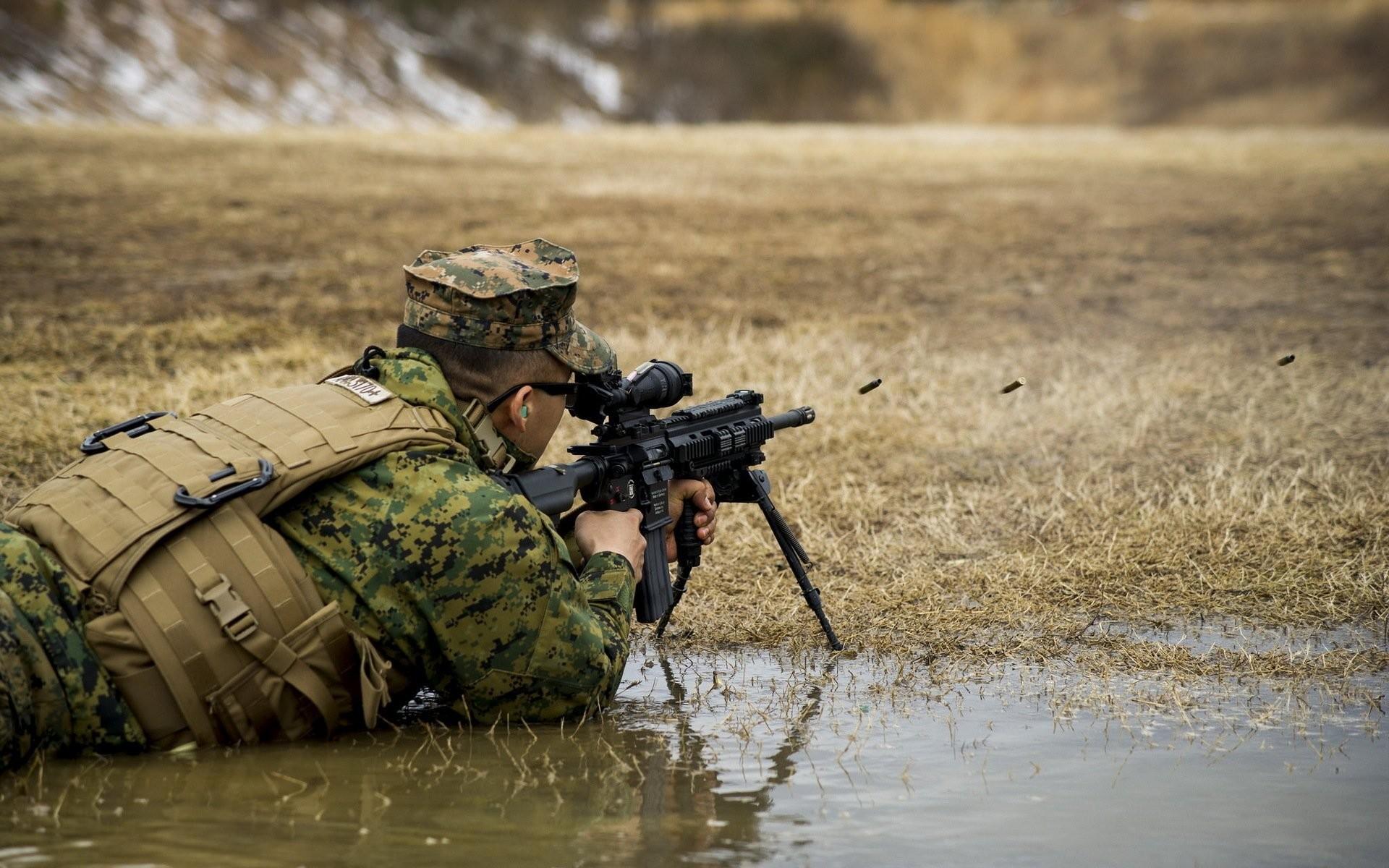 united states marine corps m27 automatic rifle