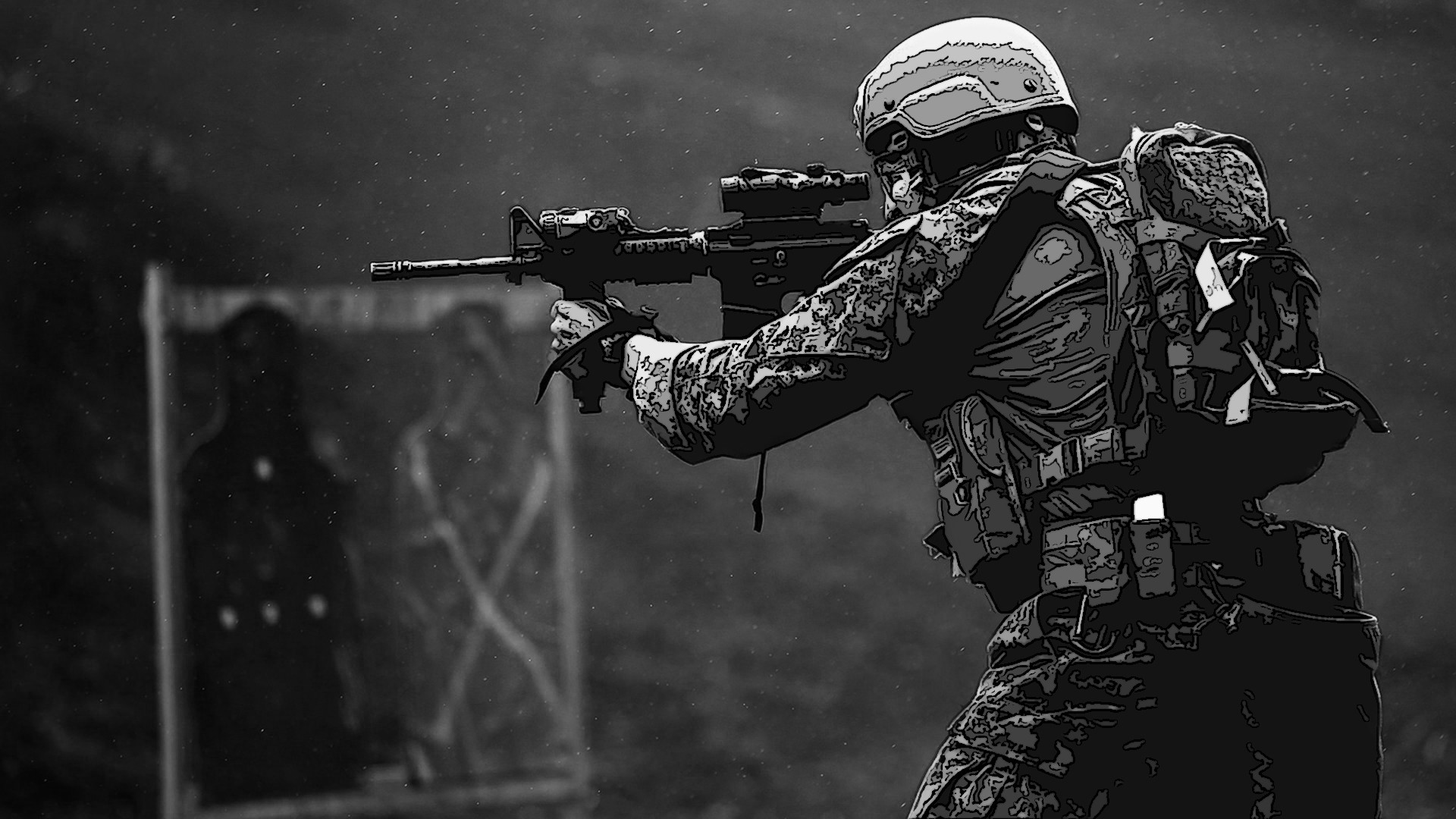 M4, united states marine corps, pohakuloa training area wallpapers .