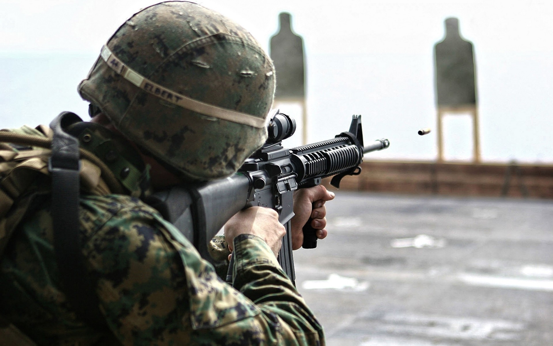 US Marine Corps Soldier