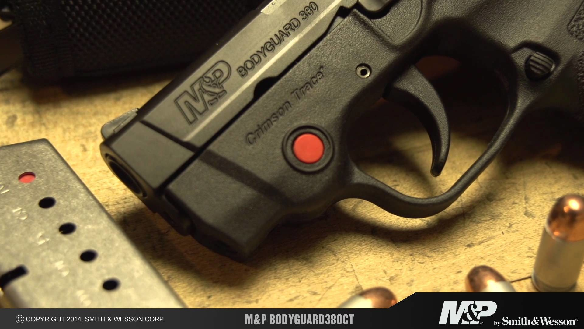 Smith & Wesson Intros New M&P BODYGUARD Handguns with Crimson Trace Laser  Sights
