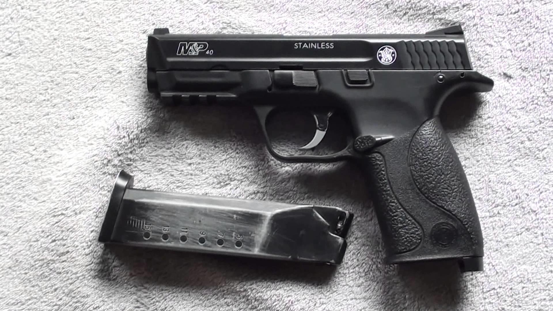 [AIRSOFT] Review fran̤aise du Smith & Wesson M&P40 РYouTube