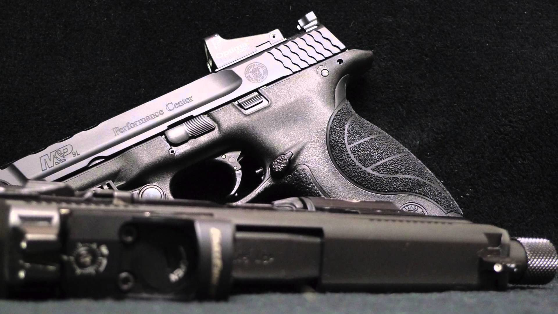 2015 Smith&Wesson M&P Performance Center ported 9mm (HD)