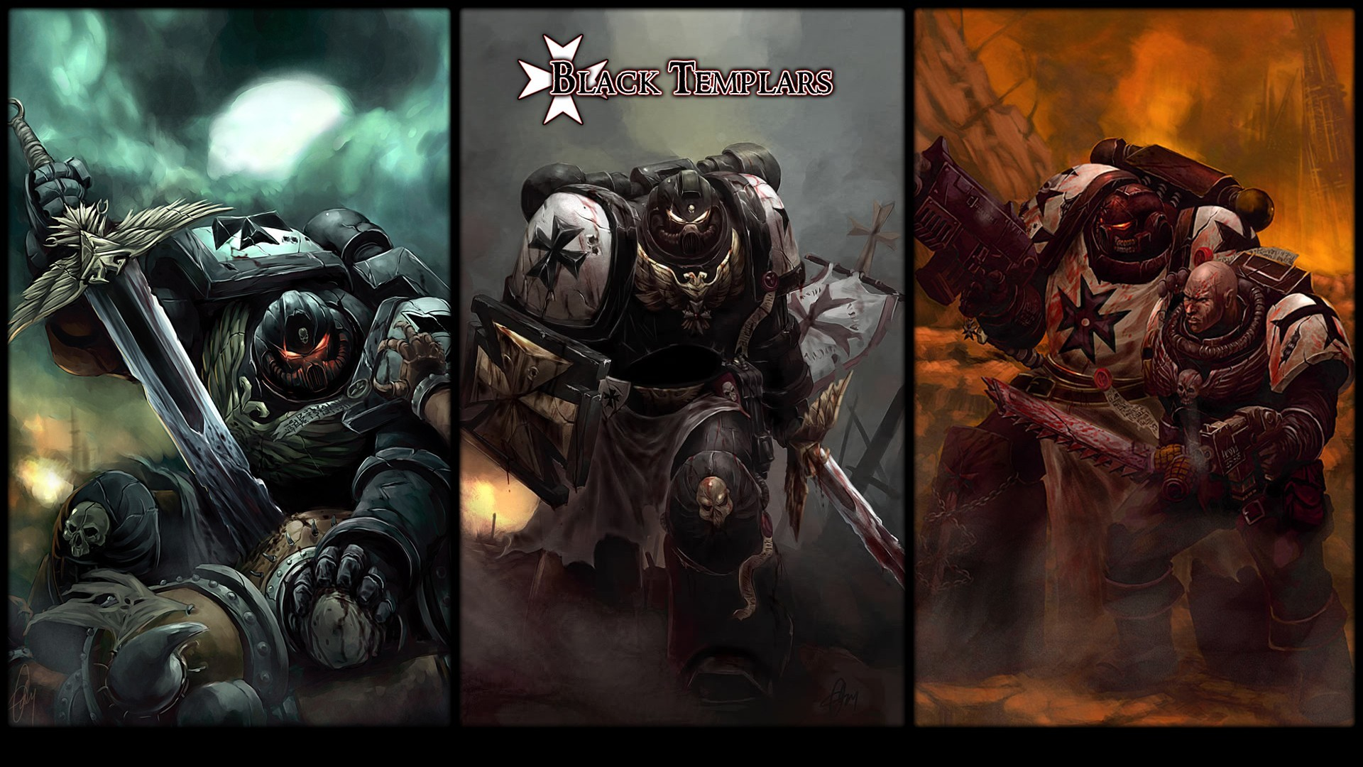 Warhammer 40K Space Marines HD Wide Wallpaper for Widescreen (40 Wallpapers)
