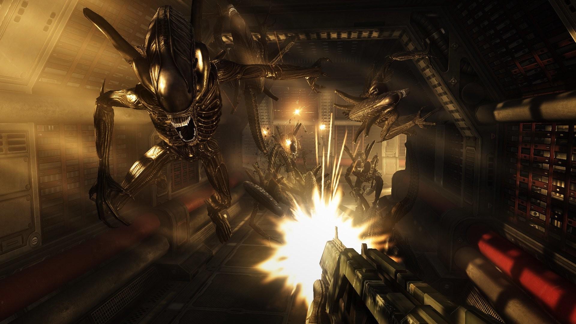 Video Game – Aliens: Colonial Marines Alien Wallpaper