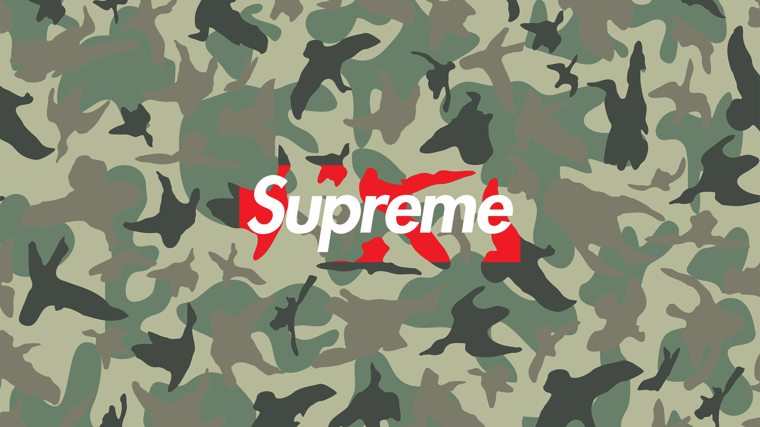 Download the Supreme Camo wallpaper below for your mobile device (Android  phones, iPhone etc.)