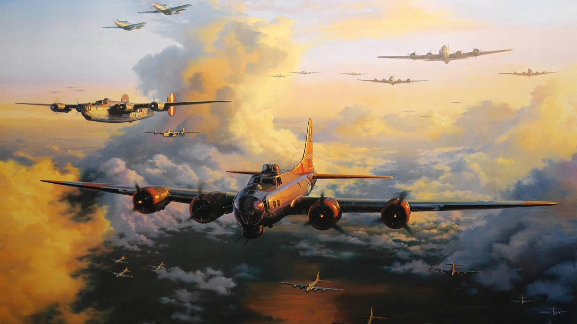 HD Wallpaper | Background ID:391974. Military Boeing B-17 Flying  Fortress