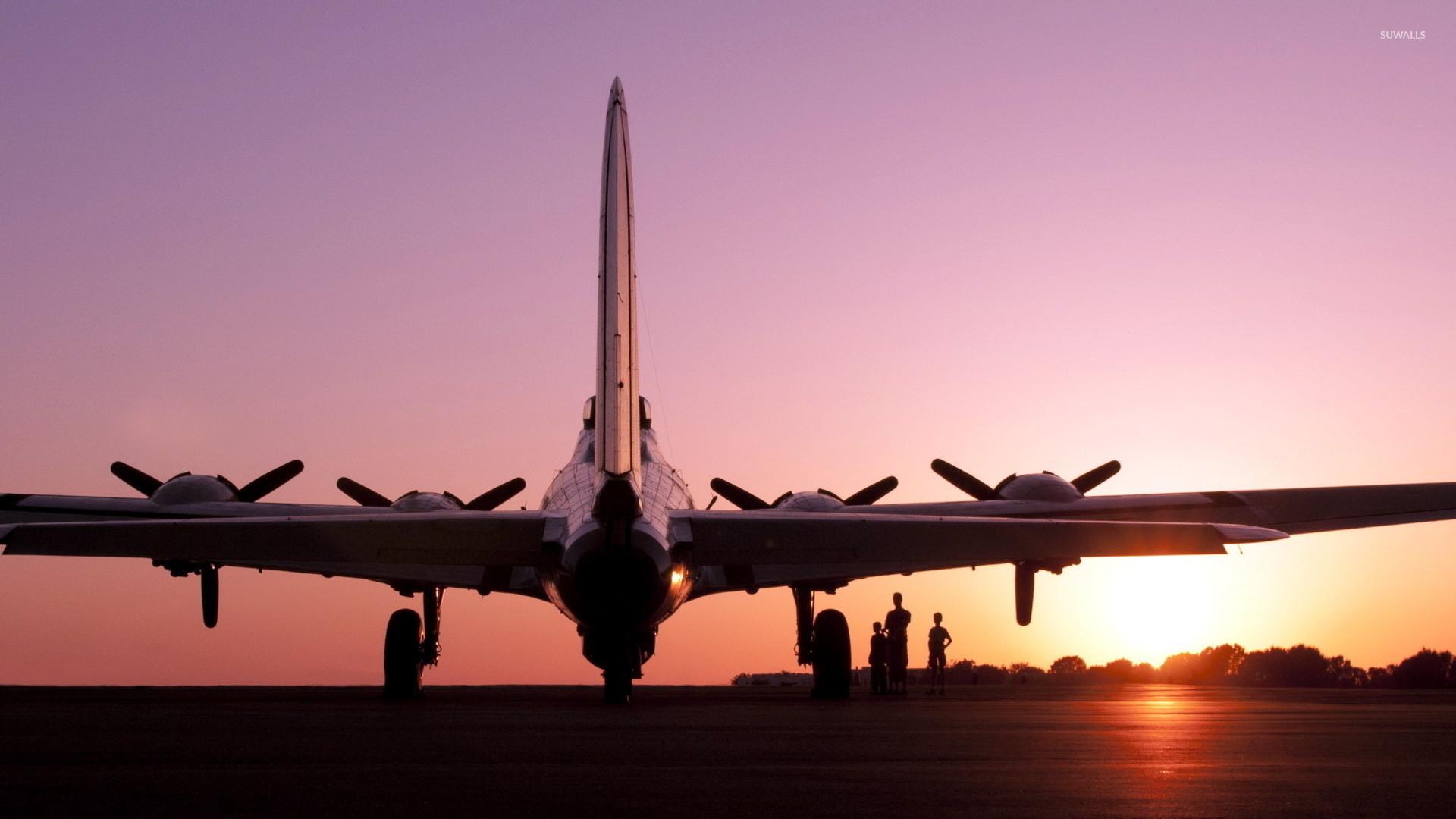 Boeing B-17 Flying Fortress [3] wallpaper jpg