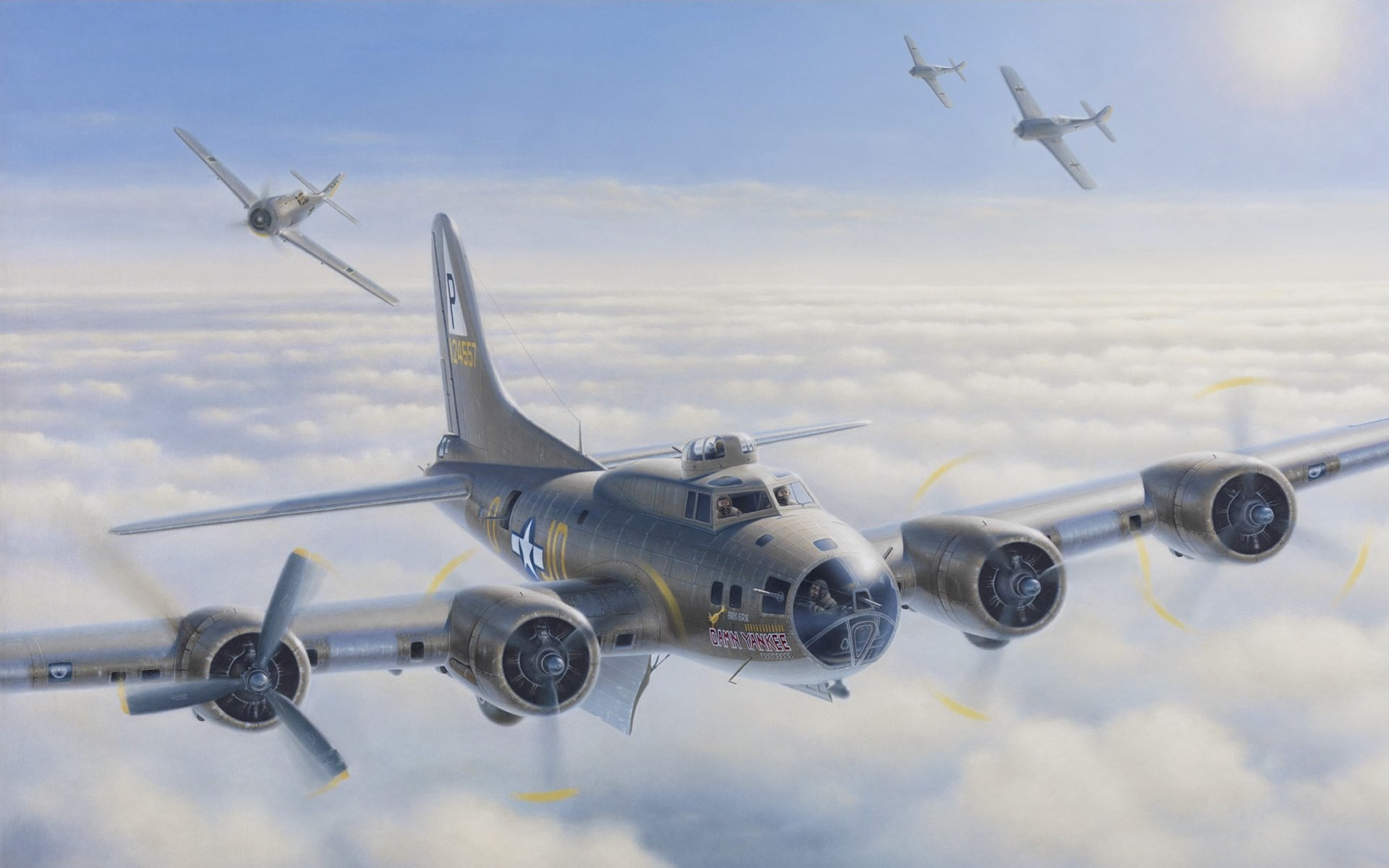 #1874837, Awesome boeing b 17 flying fortress image