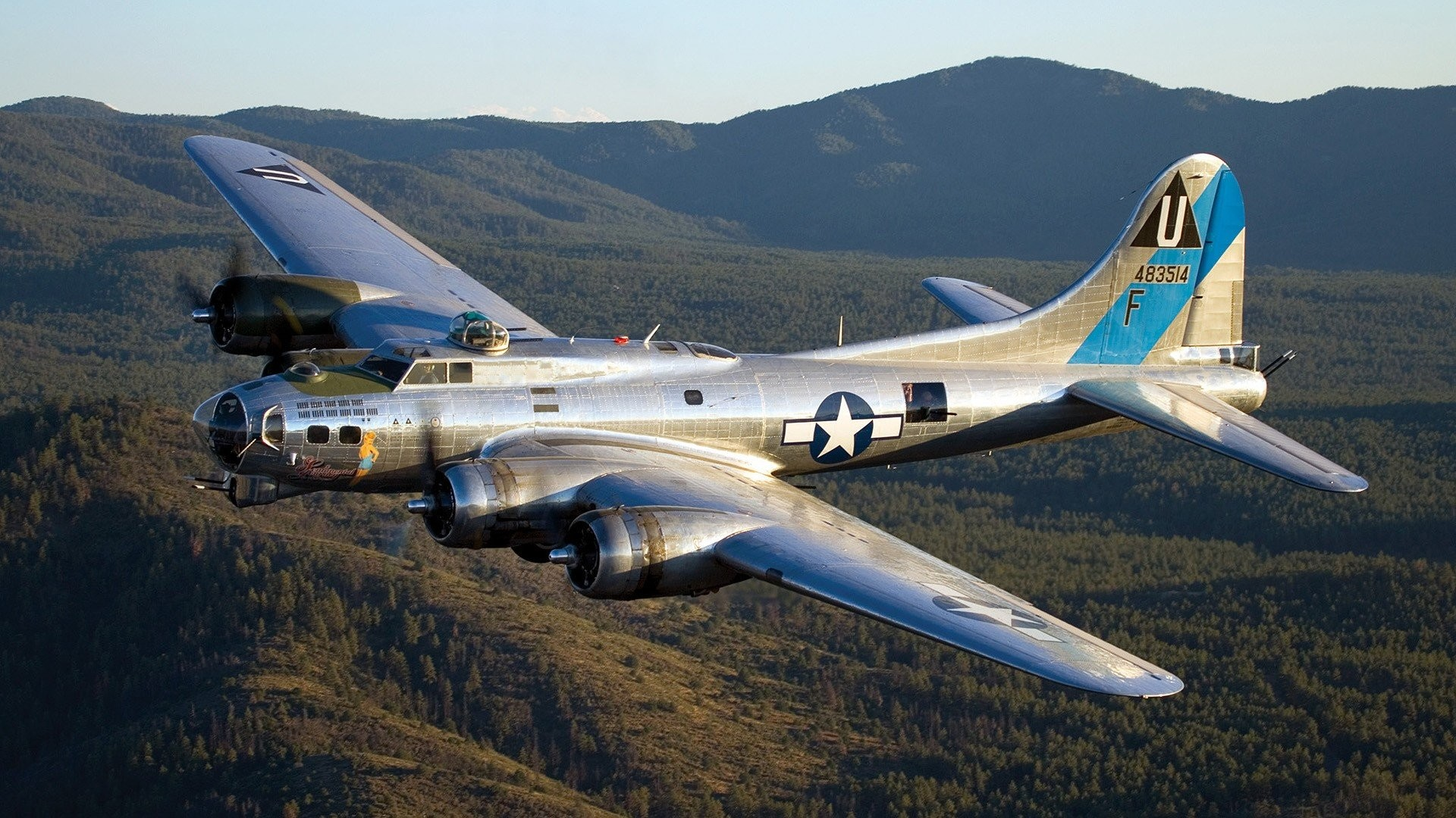 Airplanes Warbird B-17 Flying Fortress wallpaper | | 262475 |  WallpaperUP