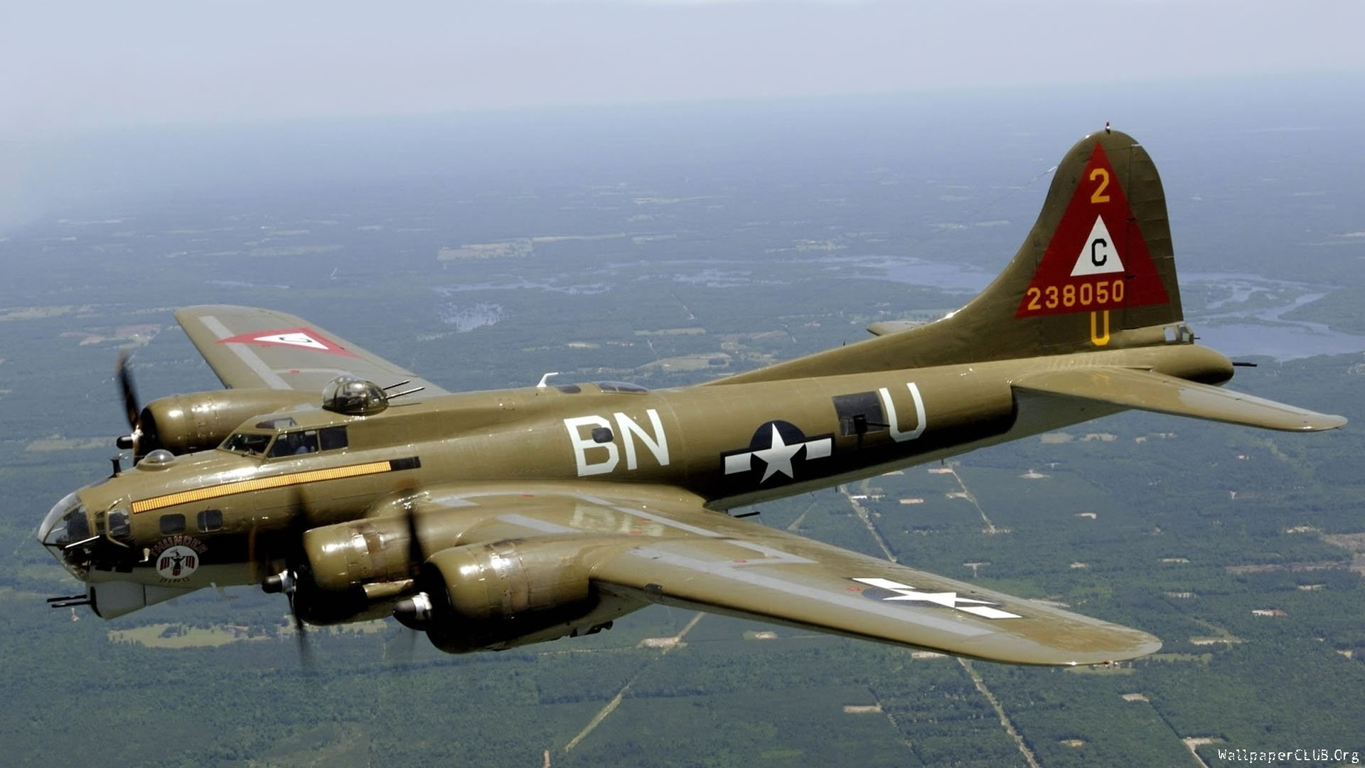 Military – Boeing B-17 Flying Fortress Air Force Aircraft Airplane Wallpaper
