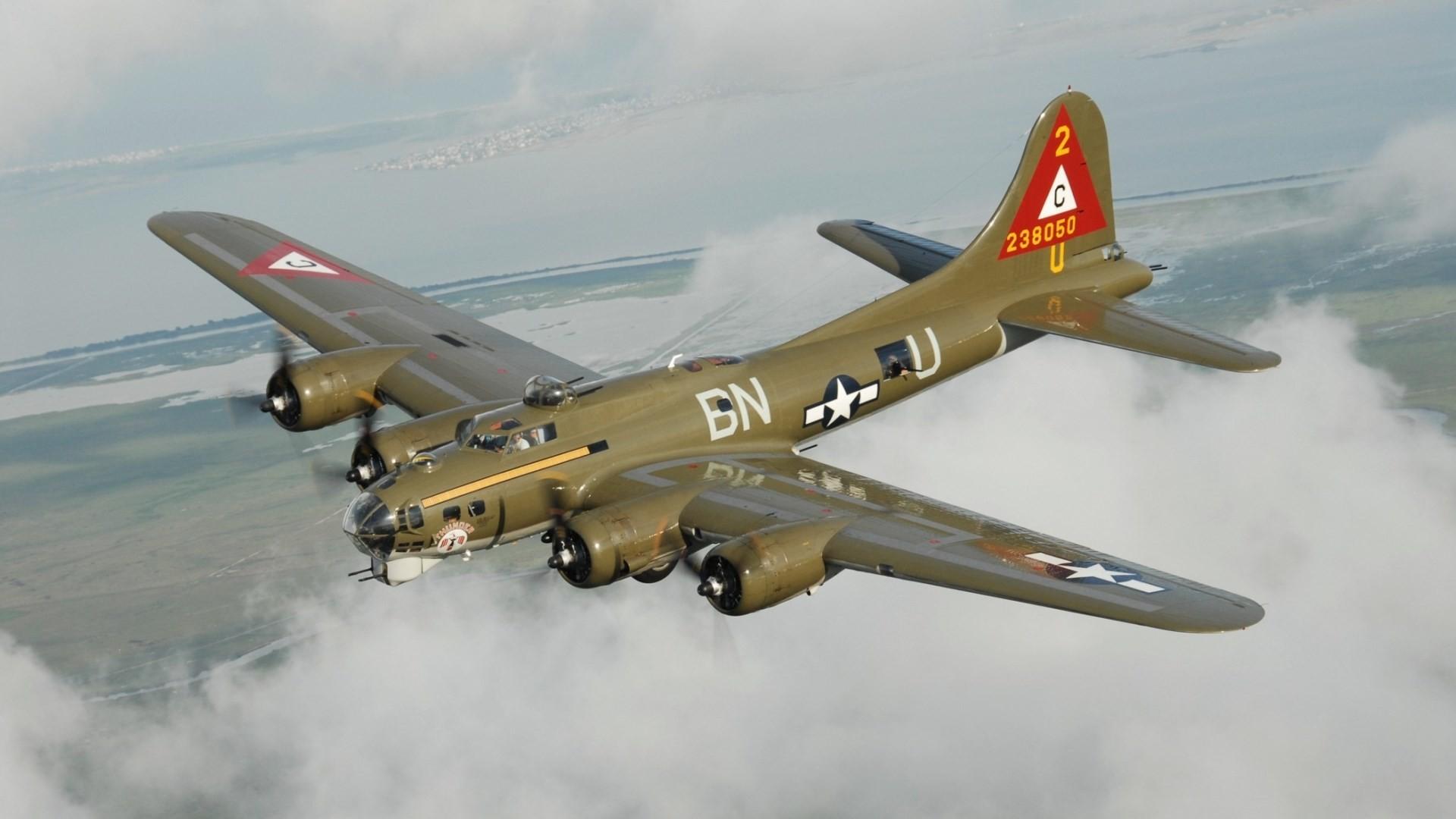 boeing b 17 flying fortress for large desktop 1920×1080