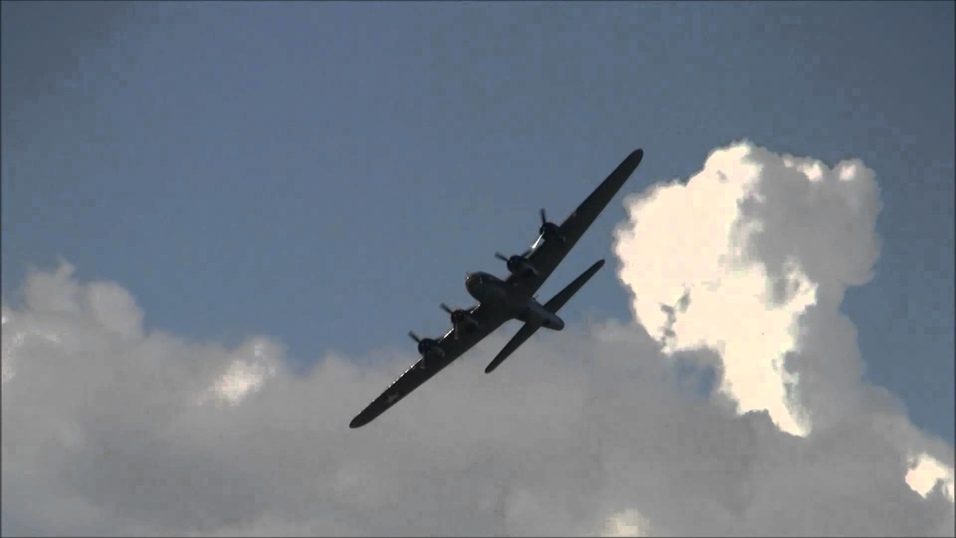 Boeing B-17 Flying Fortress display