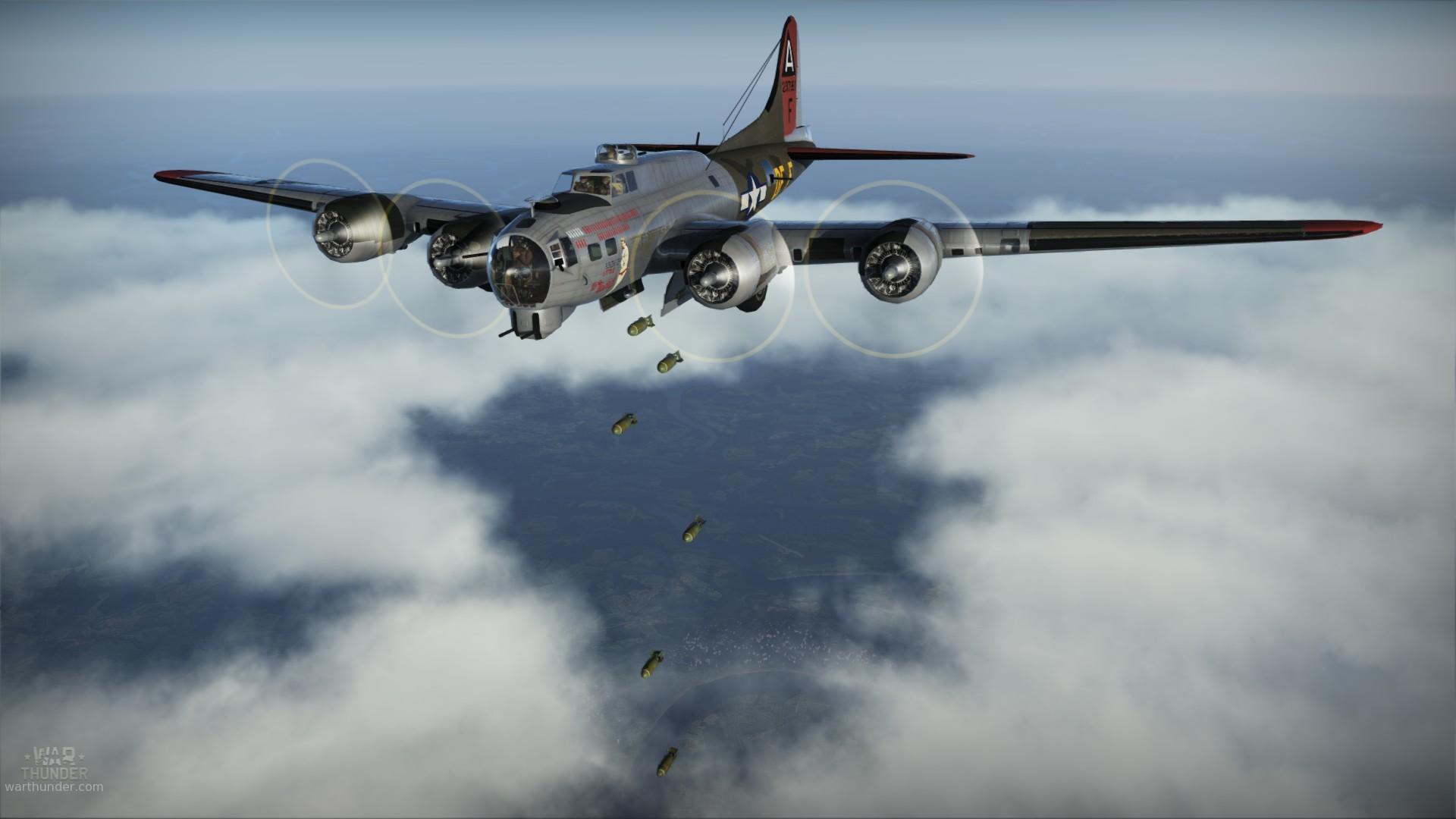 First Flight of the B-17