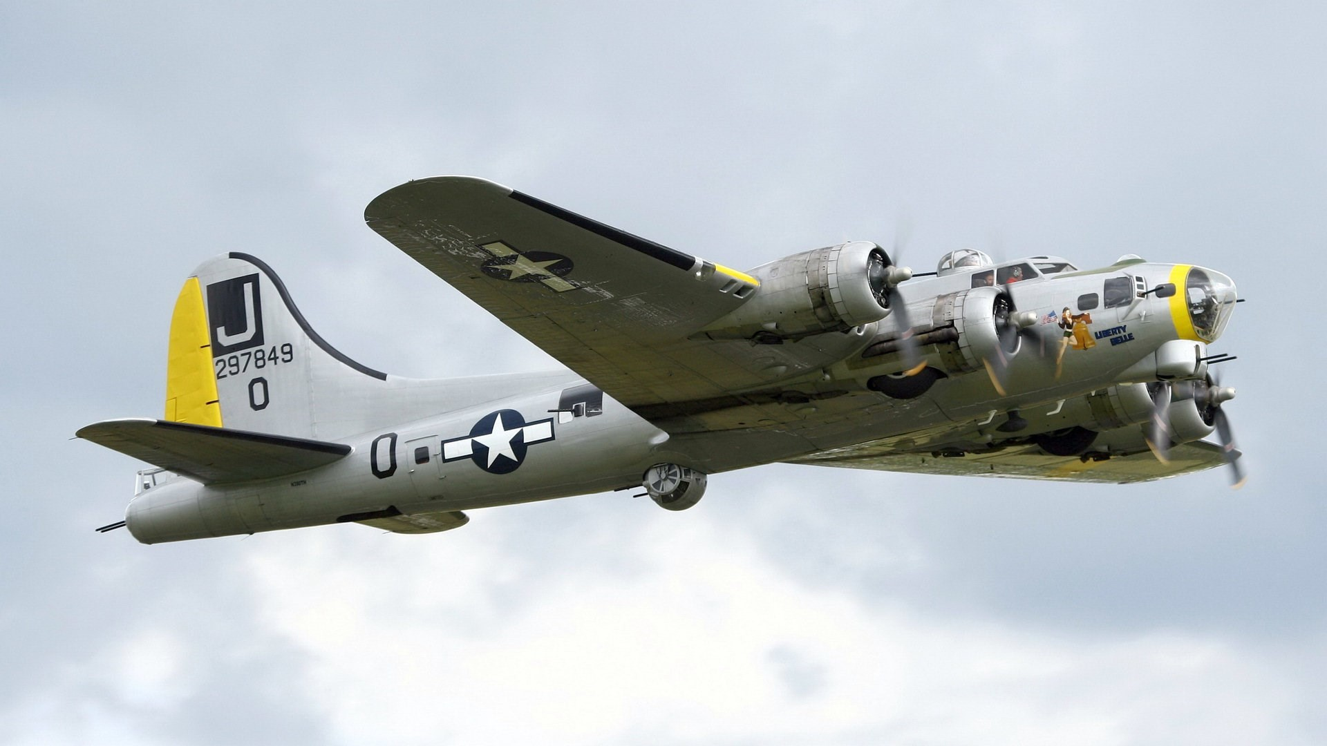 boeing b 17 flying fortress : image, wall, pic