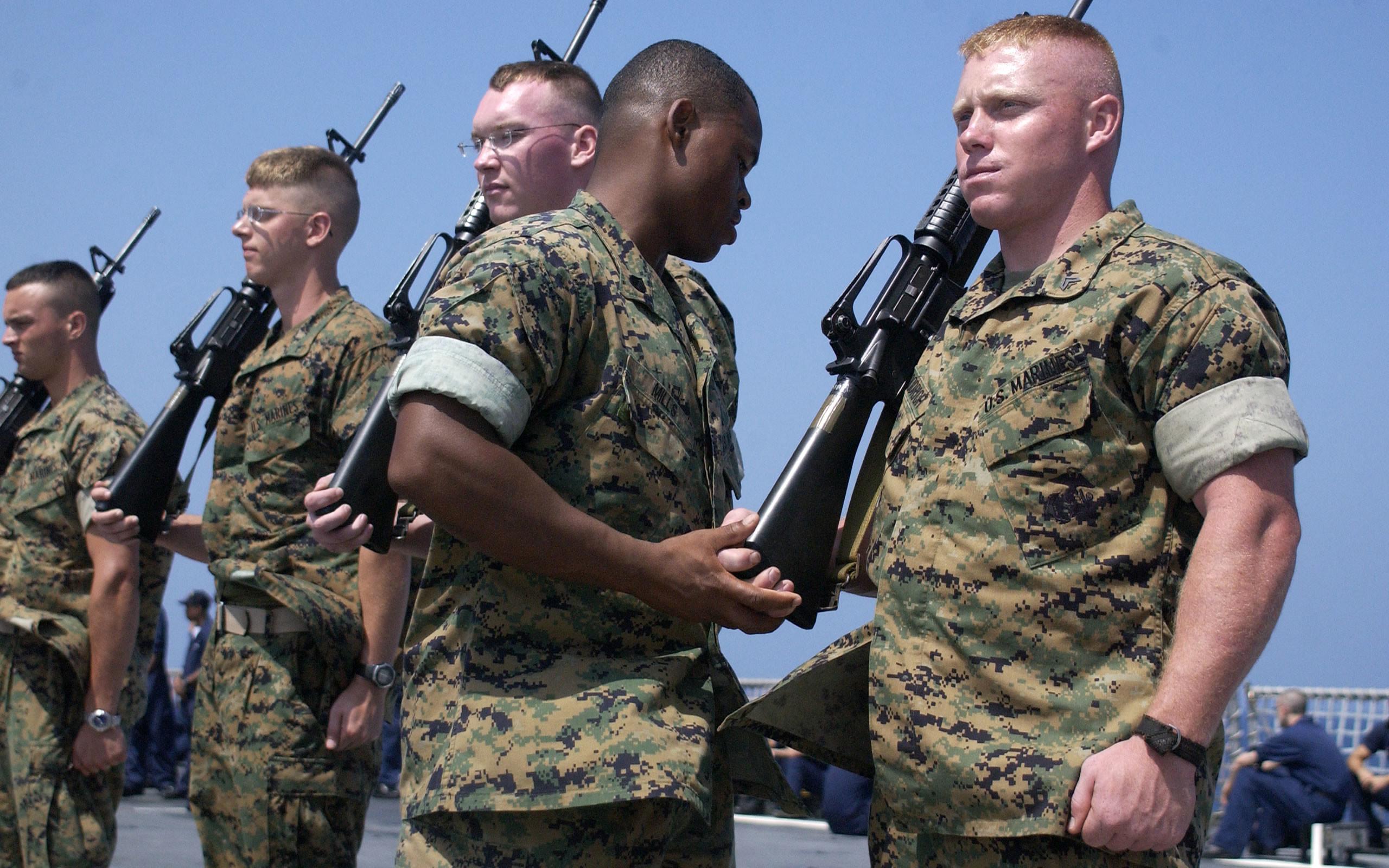 US Marine Corps Training