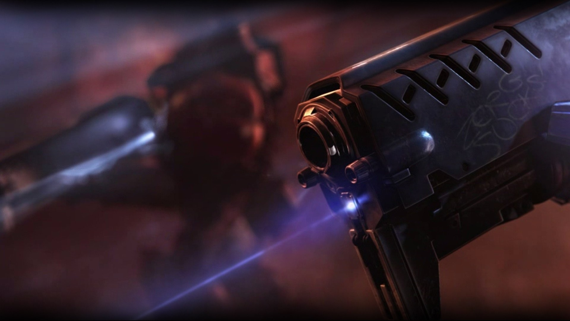 Laser Sights StarCraft Terran US Marines Corps Weapons …