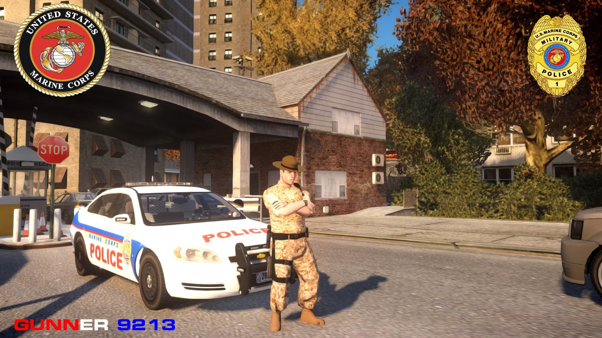 Grand Theft Auto IV Lcpdfr SP United States Marine Corps Military Police –  YouTube
