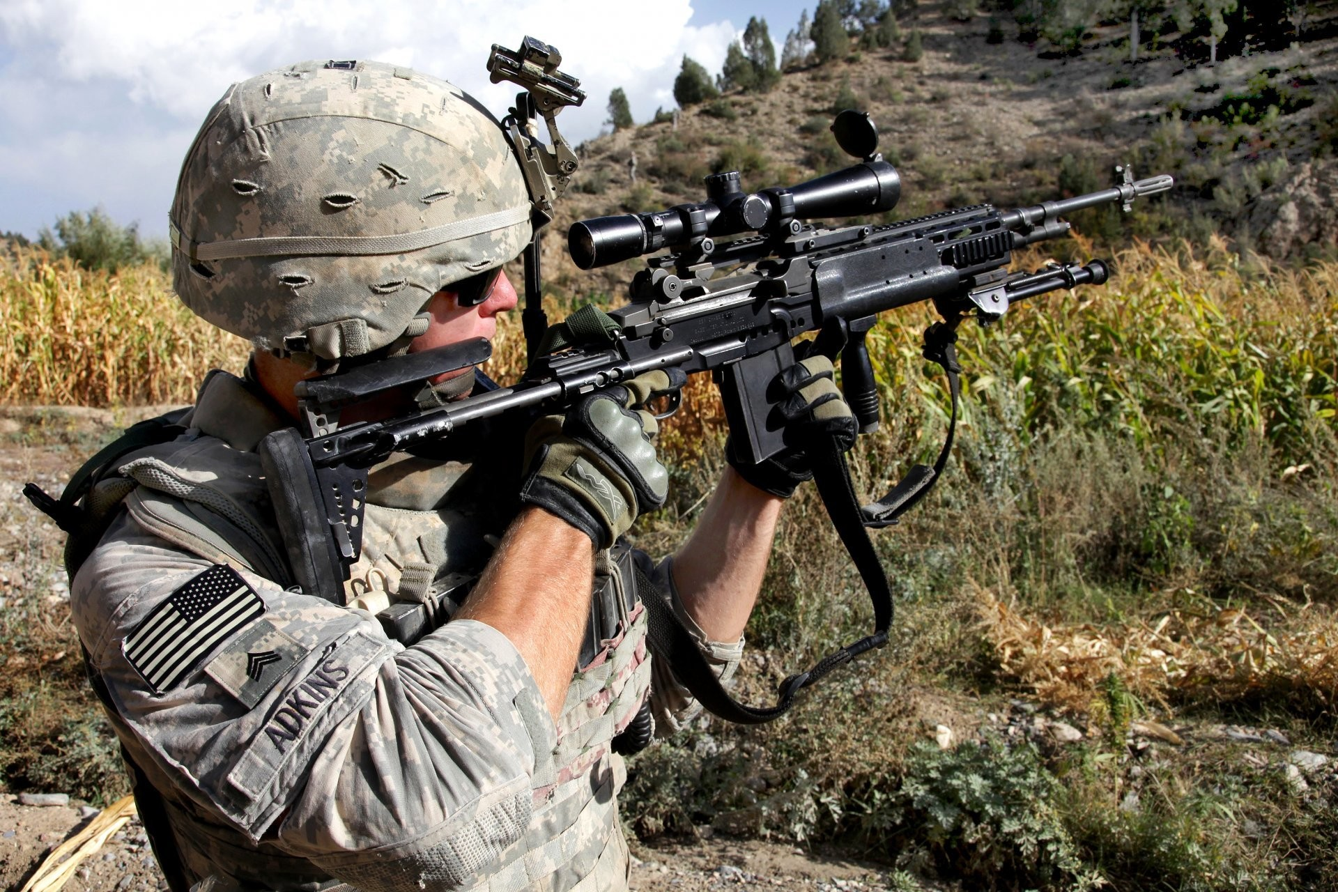 aims american soldier us