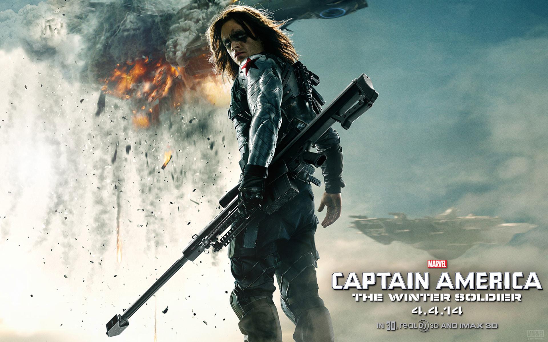 Captain America The Winter Soldier Villian HD Wallpaper