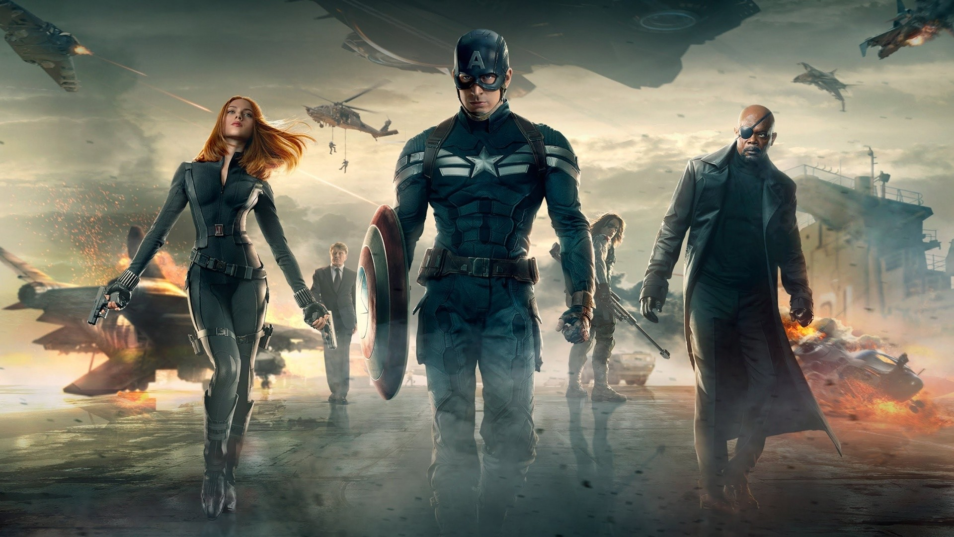 … Captain America HD Wallpaper For Your Desktop