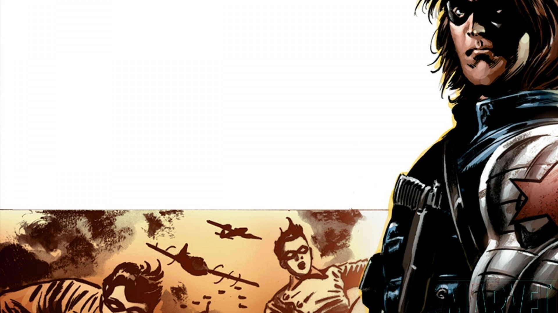 Captain America: The Winter Soldier HD Illustration