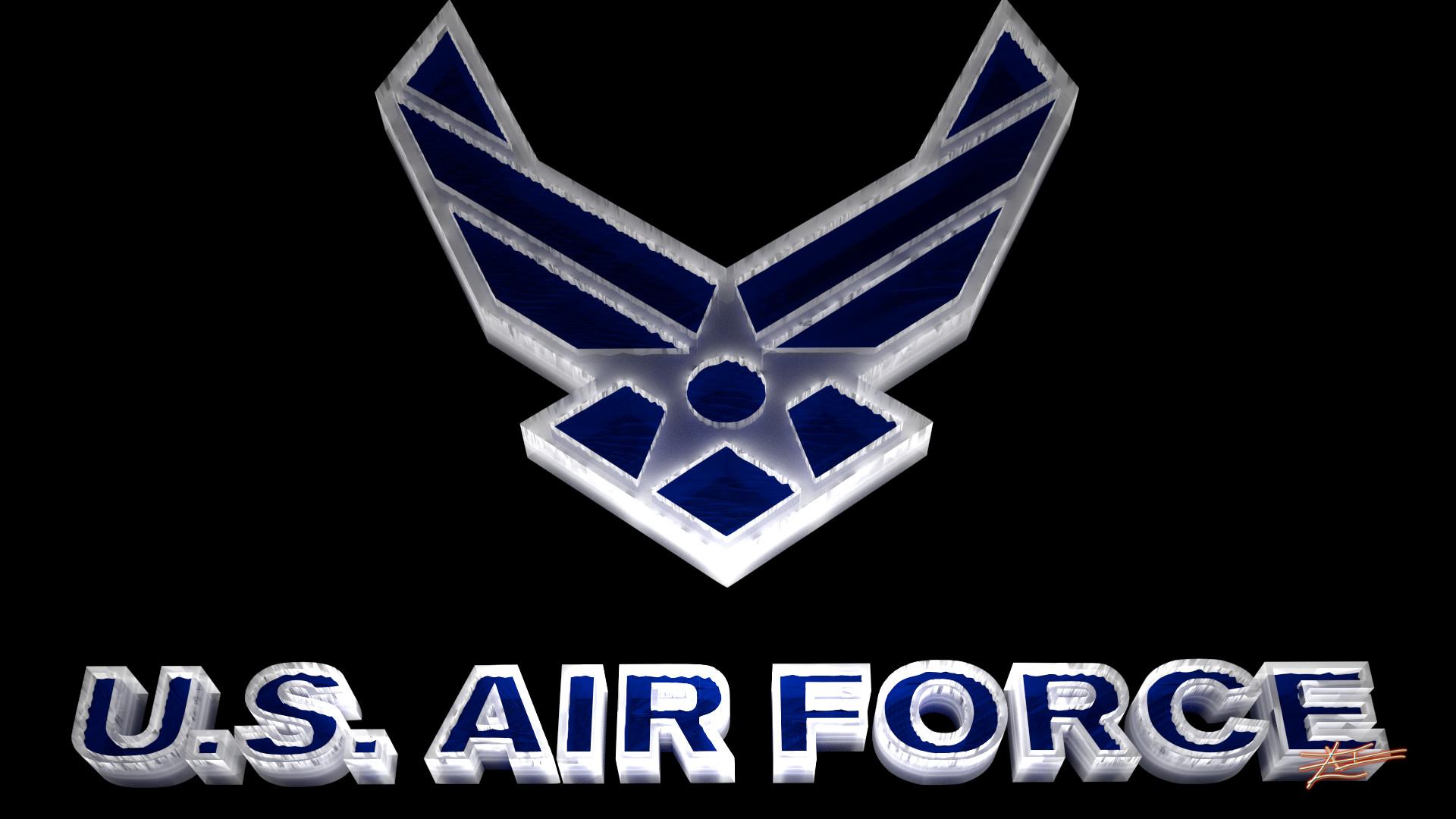 0 Air Force Logo Wallpaper Air Force Logo Wallpaper