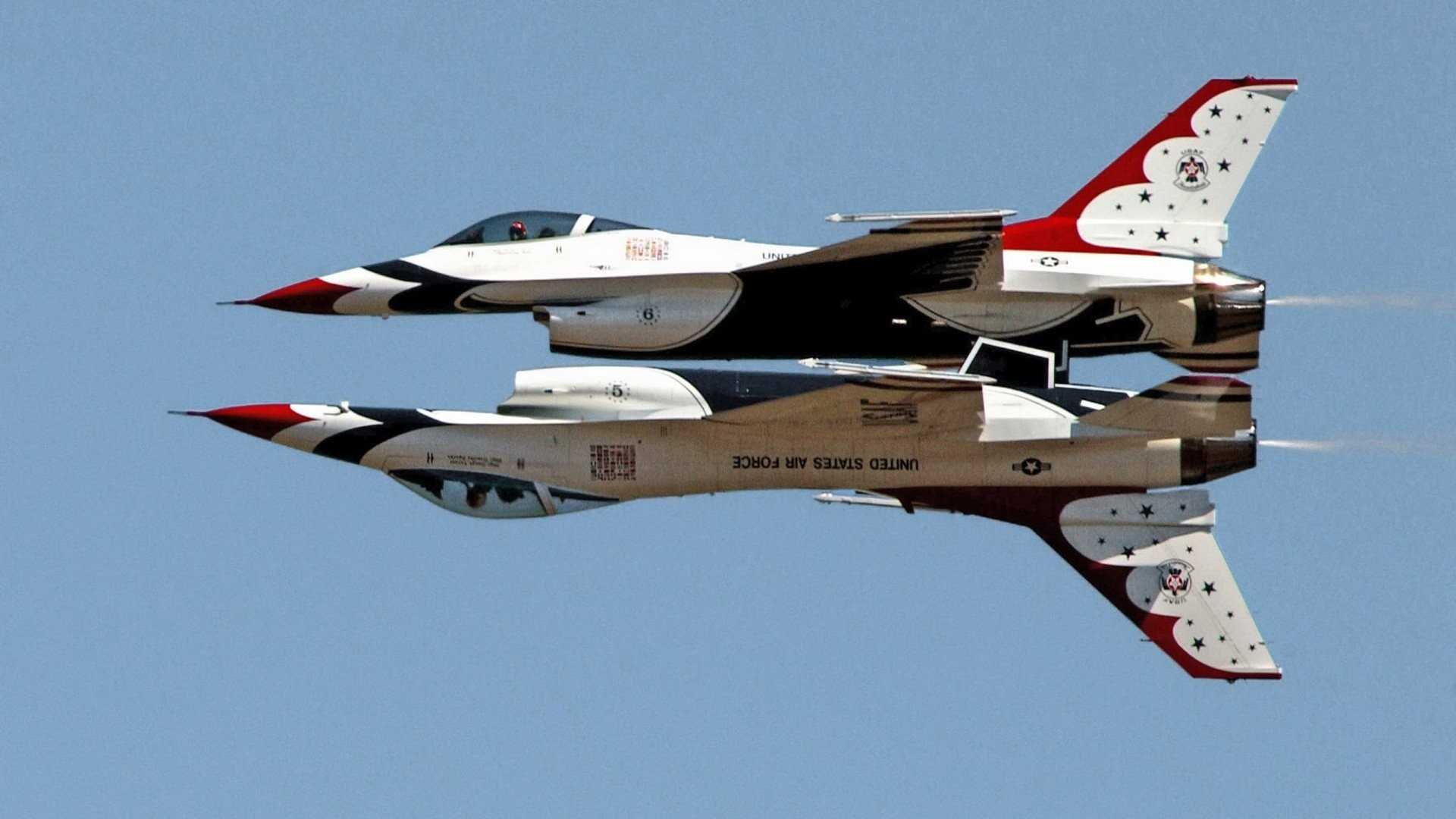 Fighting United States Air Force F-16 Fighting Falcon Thunderbirds  (squadron) wallpaper | | 289361 | WallpaperUP