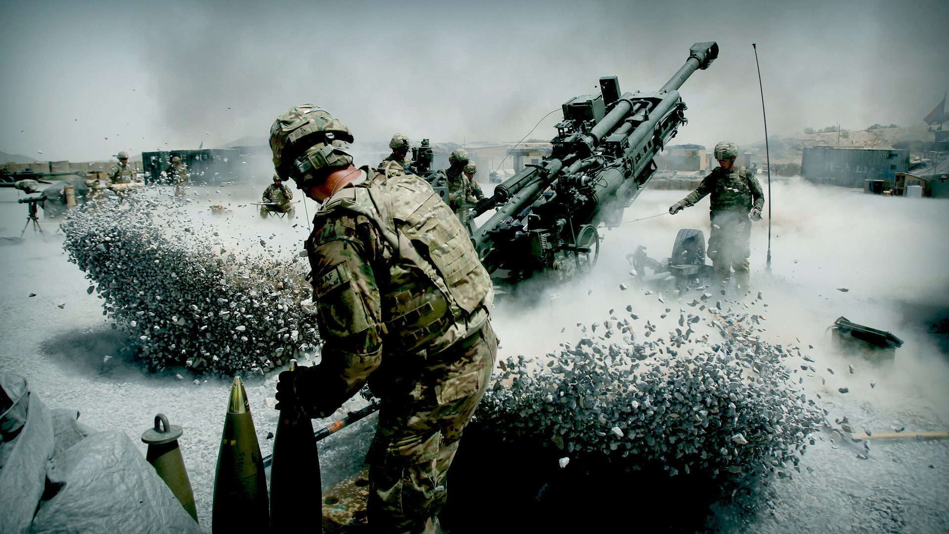 Artillery Weapons Military Wallpaper